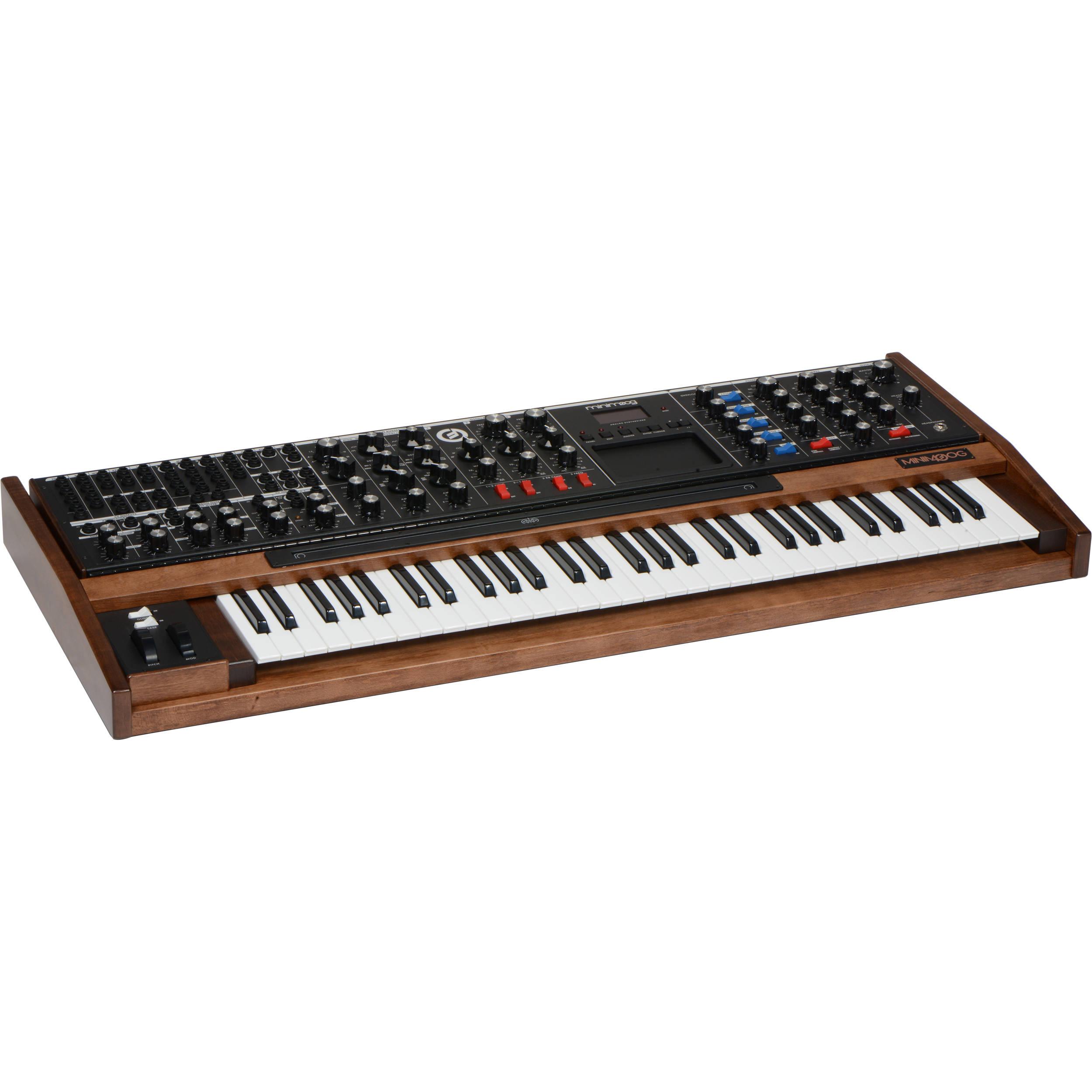 Moog Minimoog Voyager XL Monophonic Synthesizer (Maple)
