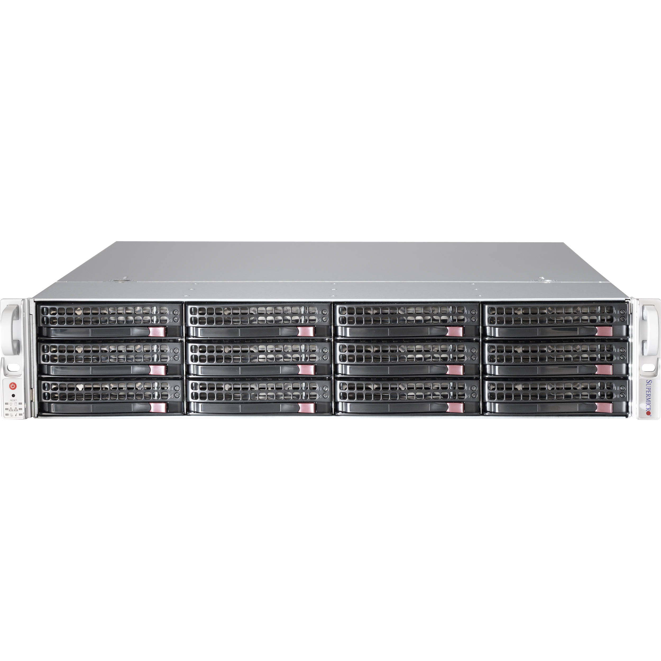 Supermicro Total Solution 72TB 12-Bay NAS Server for Red Hat Ceph (12 x 6TB)