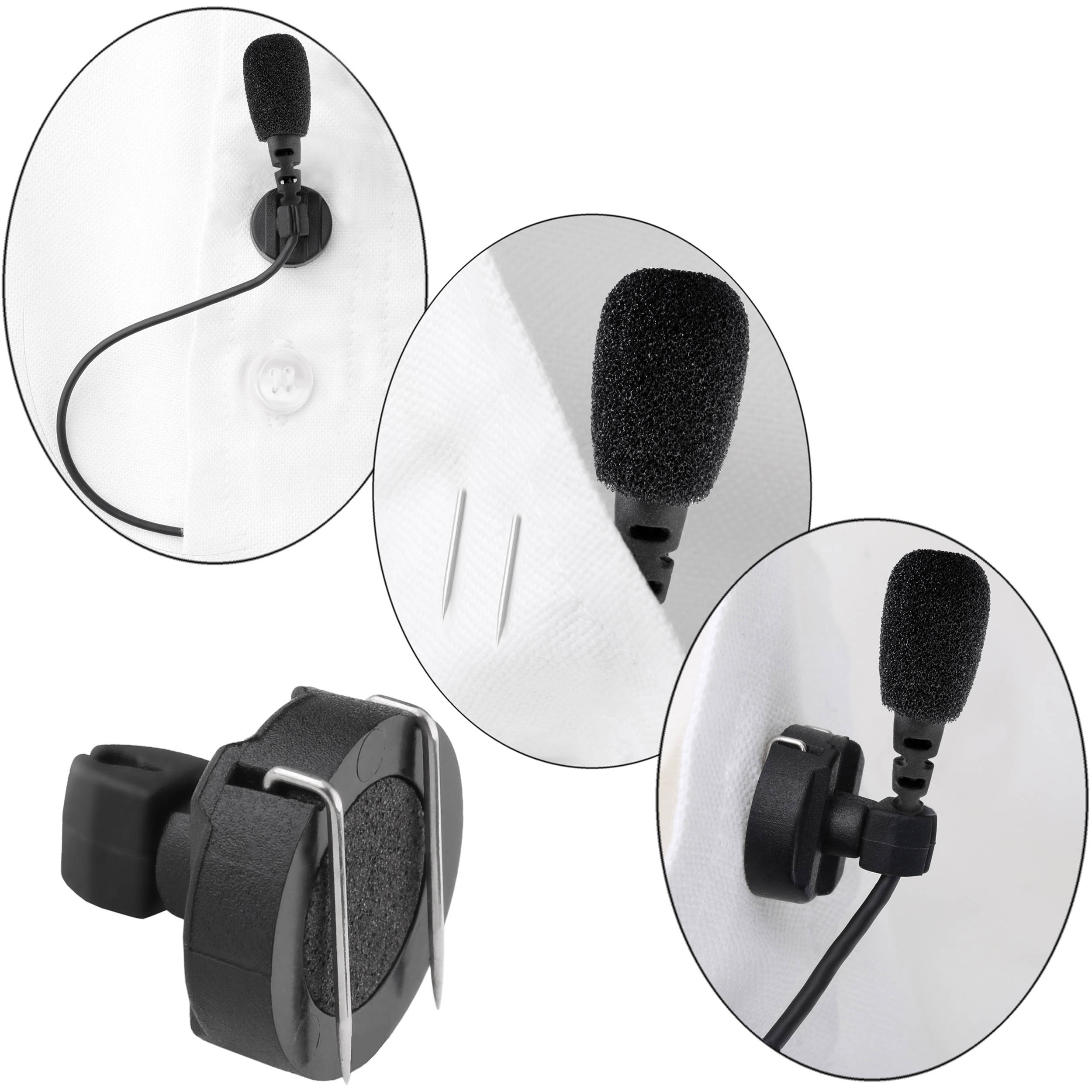 Senal UTM-86-TA5 Lavalier Mic with TA5 Connector for Lectrosonics Wireless Transmitters