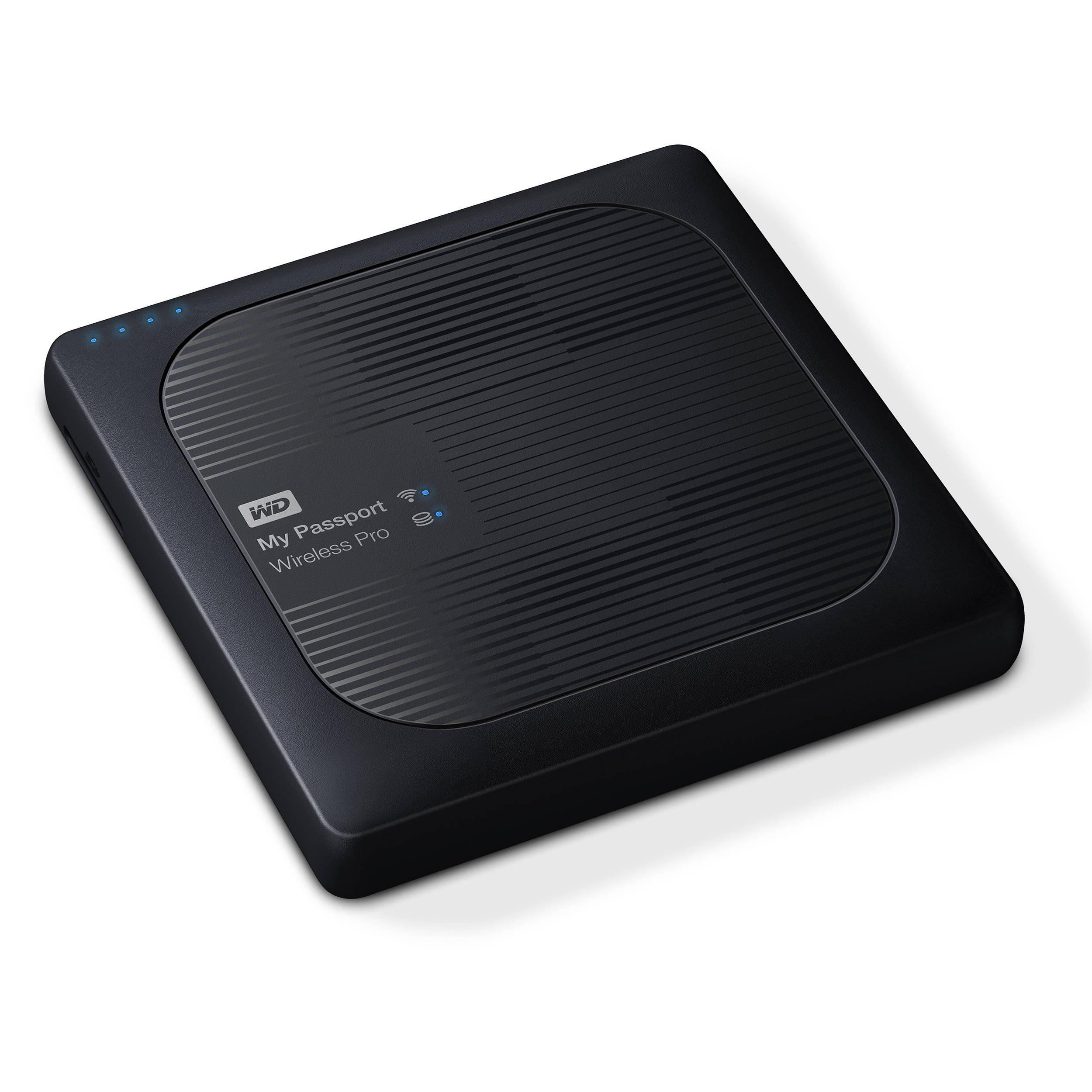 WD 4TB My Passport Wireless Pro USB 3 0 External Hard Drive