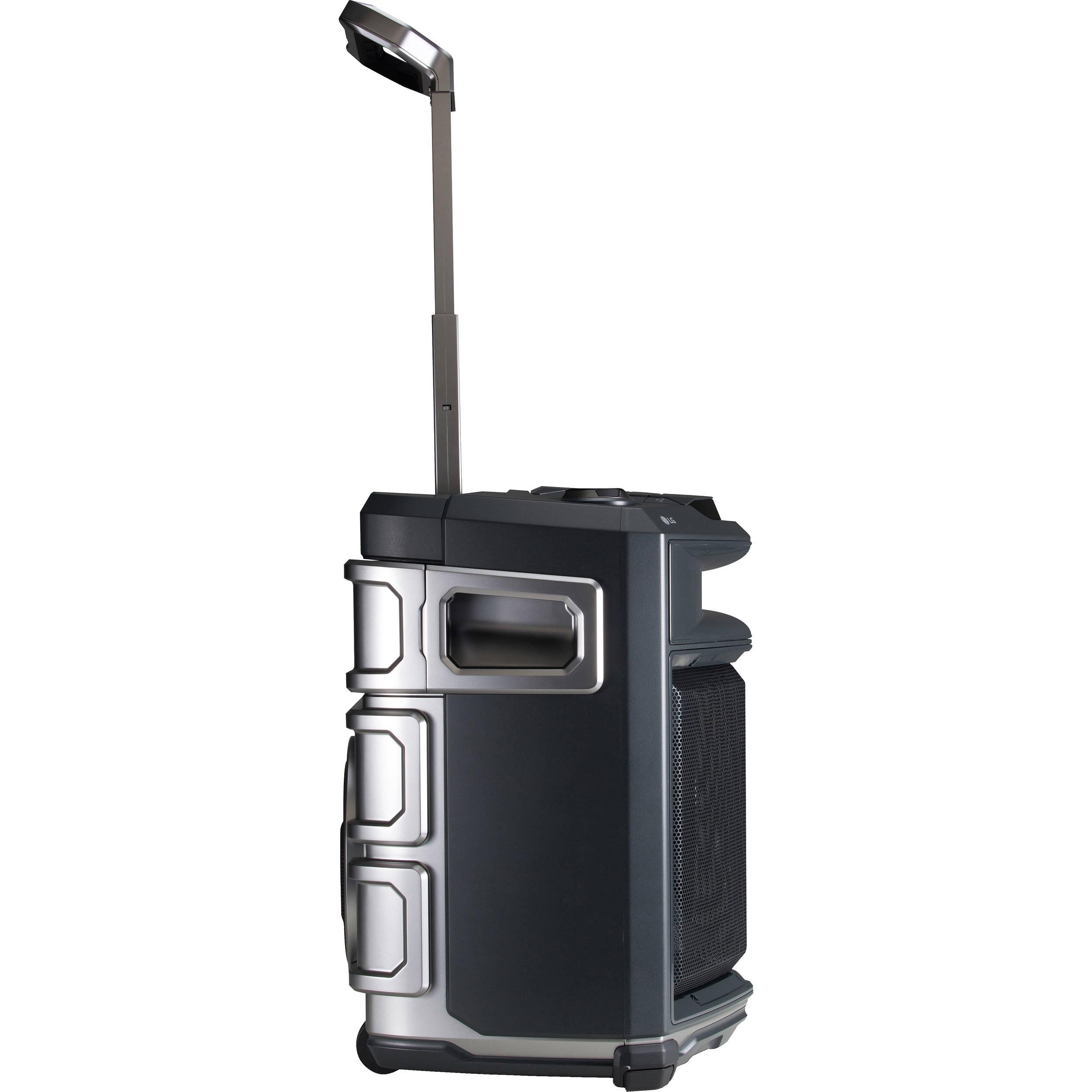 LG FJ3 LOUDR Portable Rechargeable Hi-Fi 50W Speaker System w// Bluetooth USB AUX