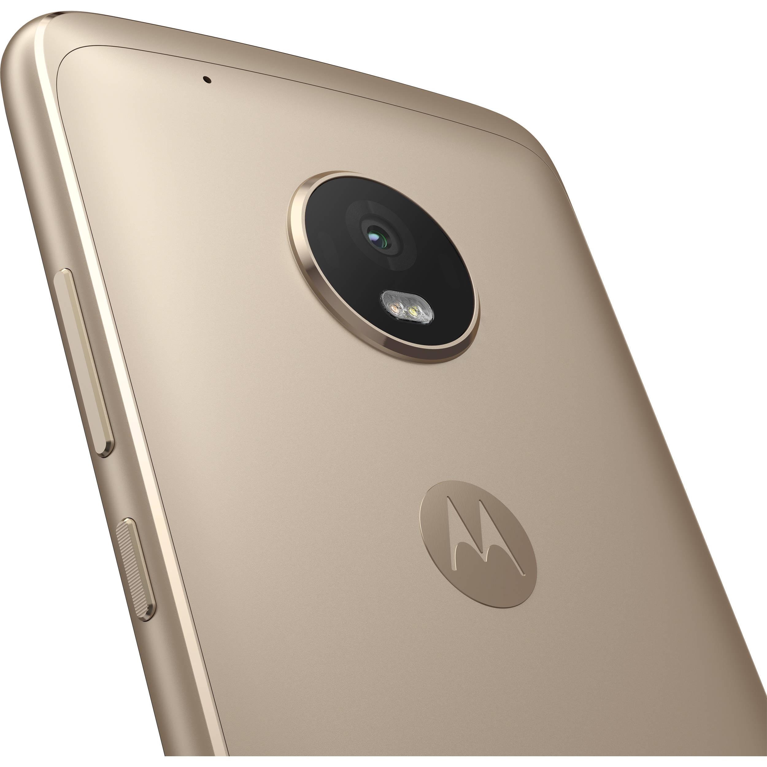 Moto G5 Plus XT1687 32GB Smartphone (Unlocked, Fine Gold)