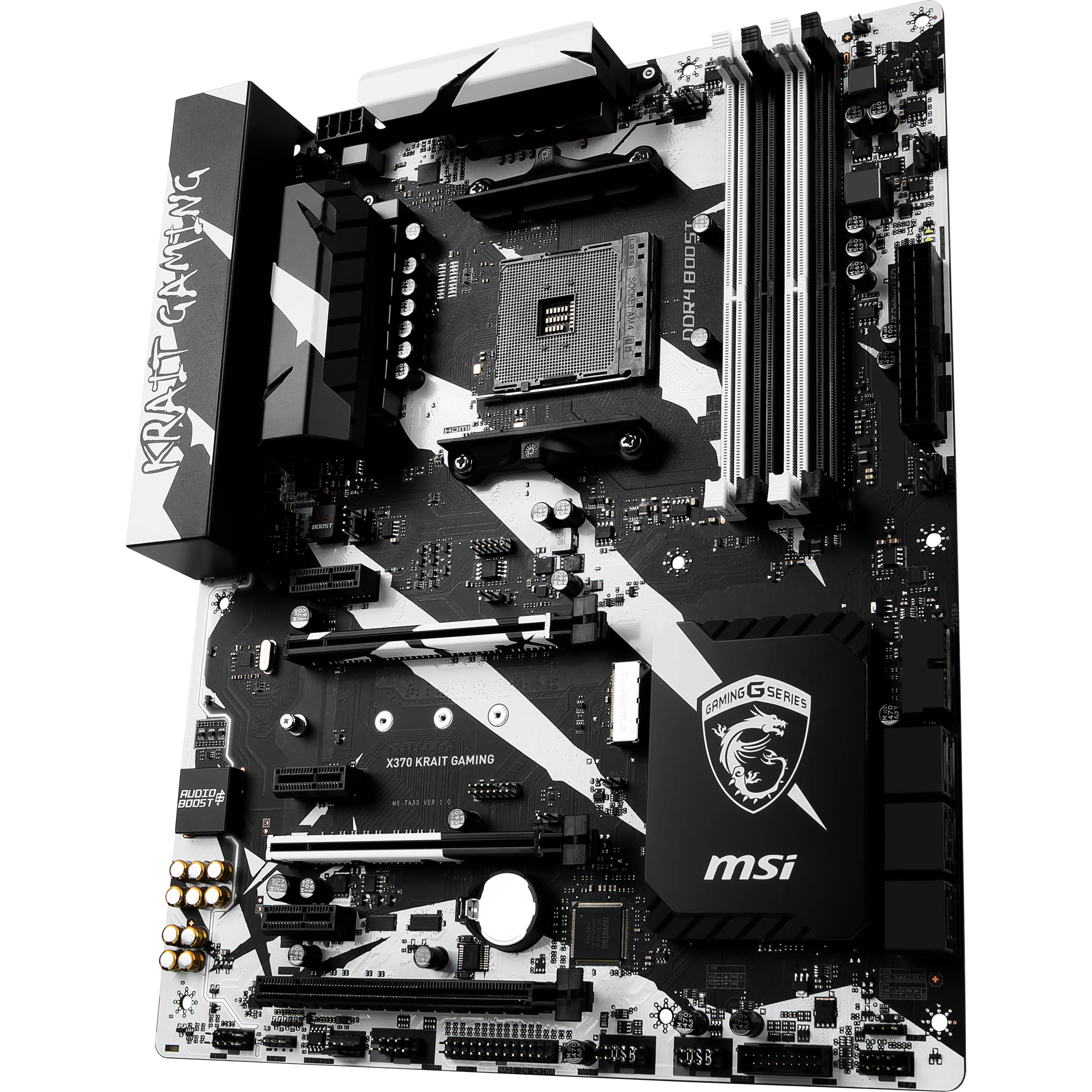 MSI X370 Krait Gaming AM4 ATX Motherboard