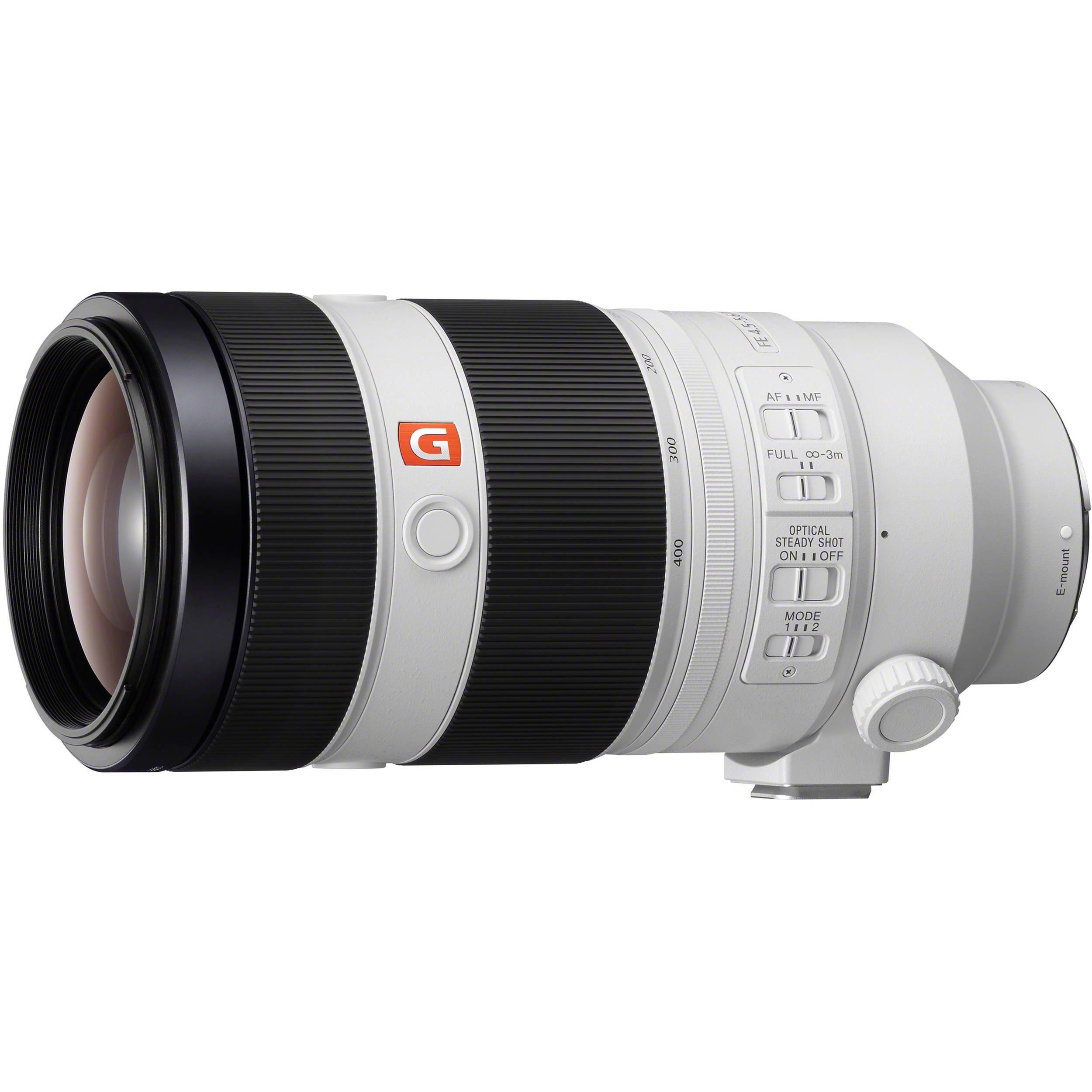 Sony FE 100-400mm f/4 5-5 6 GM OSS Lens