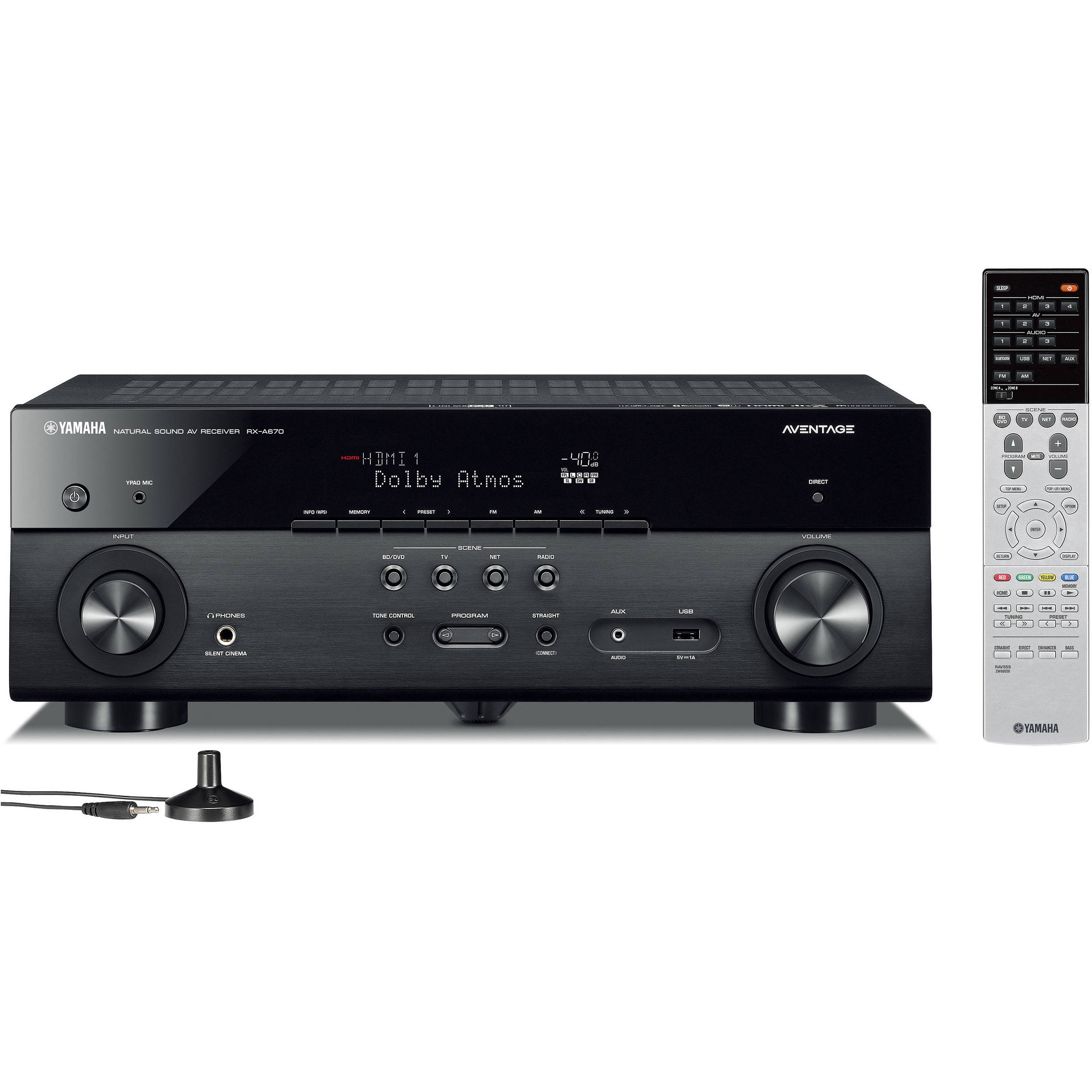 Yamaha AVENTAGE RX-A670 7 2-Channel Network A/V Receiver