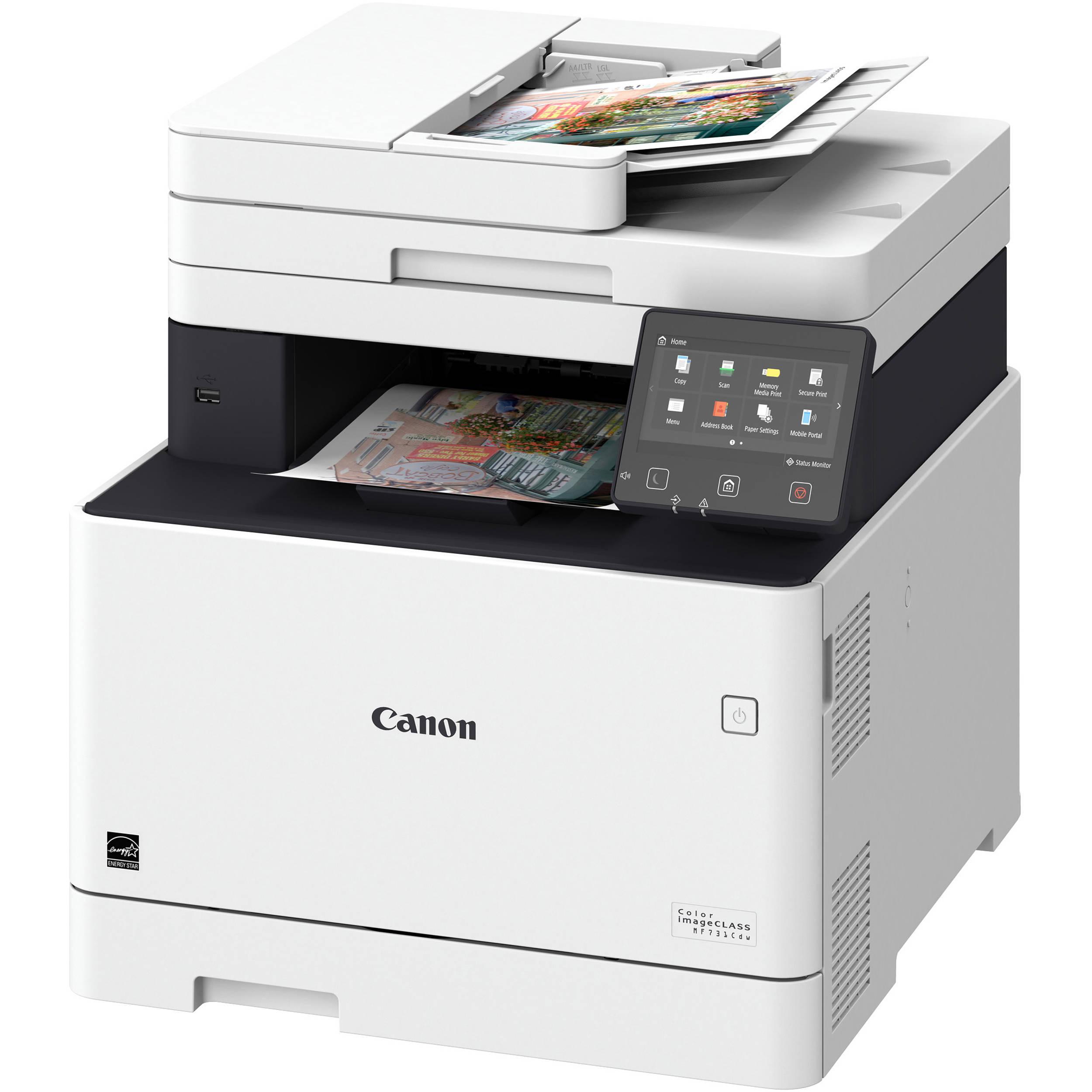 Canon imageCLASS MF731Cdw All-in-One Color Laser Printer