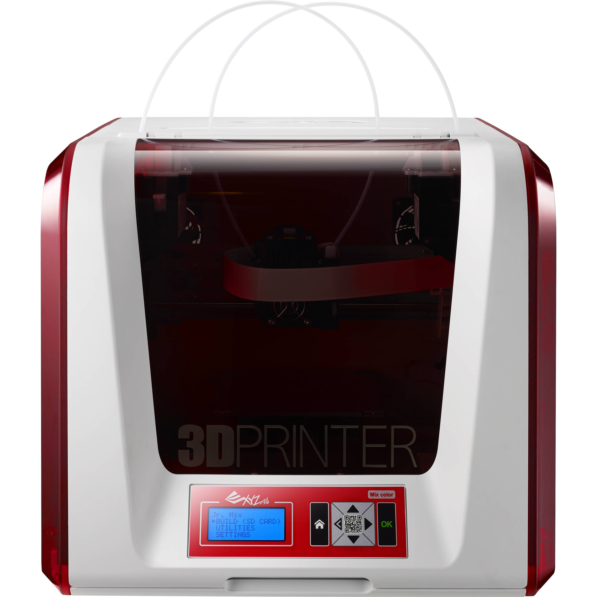 XYZprinting da Vinci Jr  2 0 Mix 3D Printer