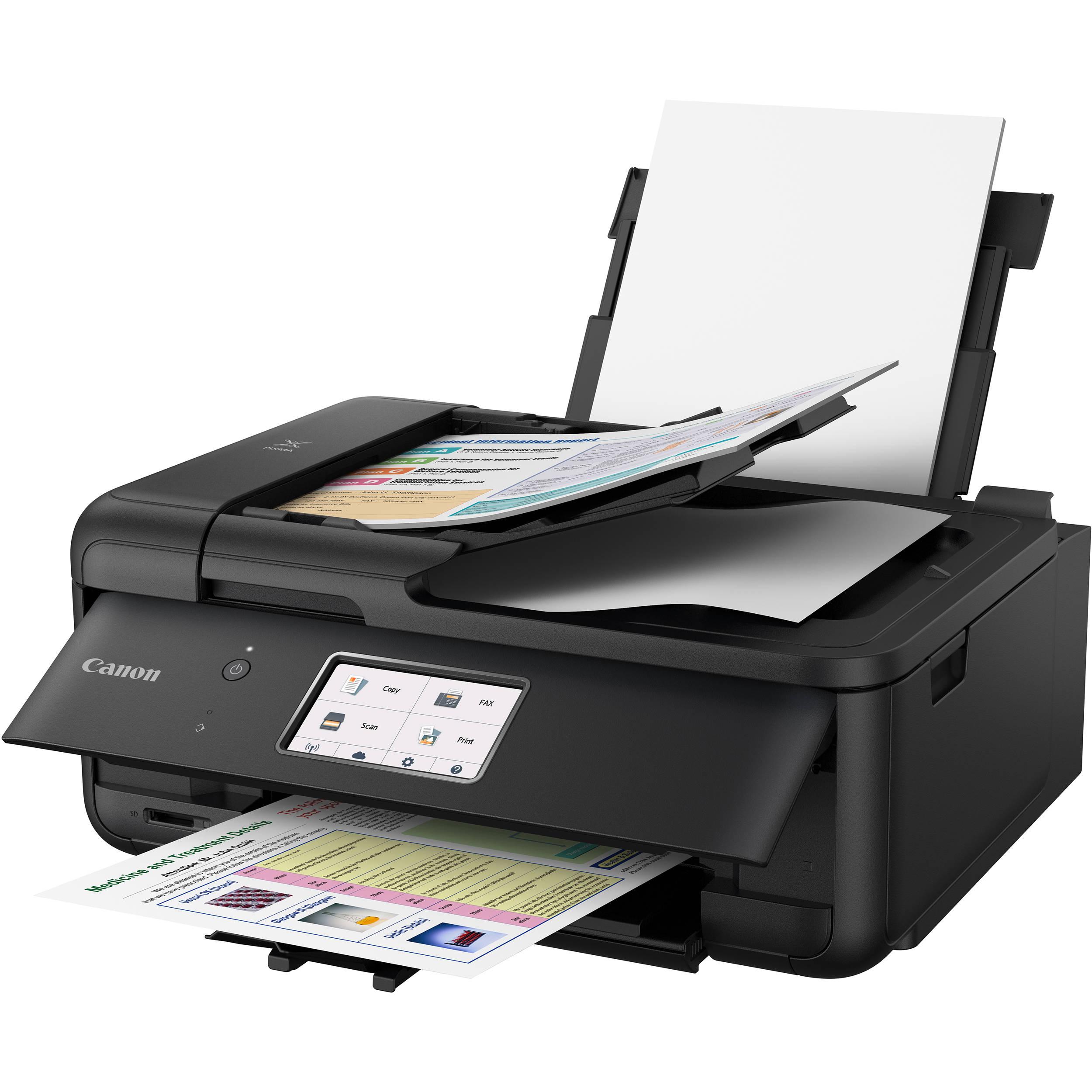 Canon Pixma Tr8520 Wireless Home Office All In One Inkjet Printer Black