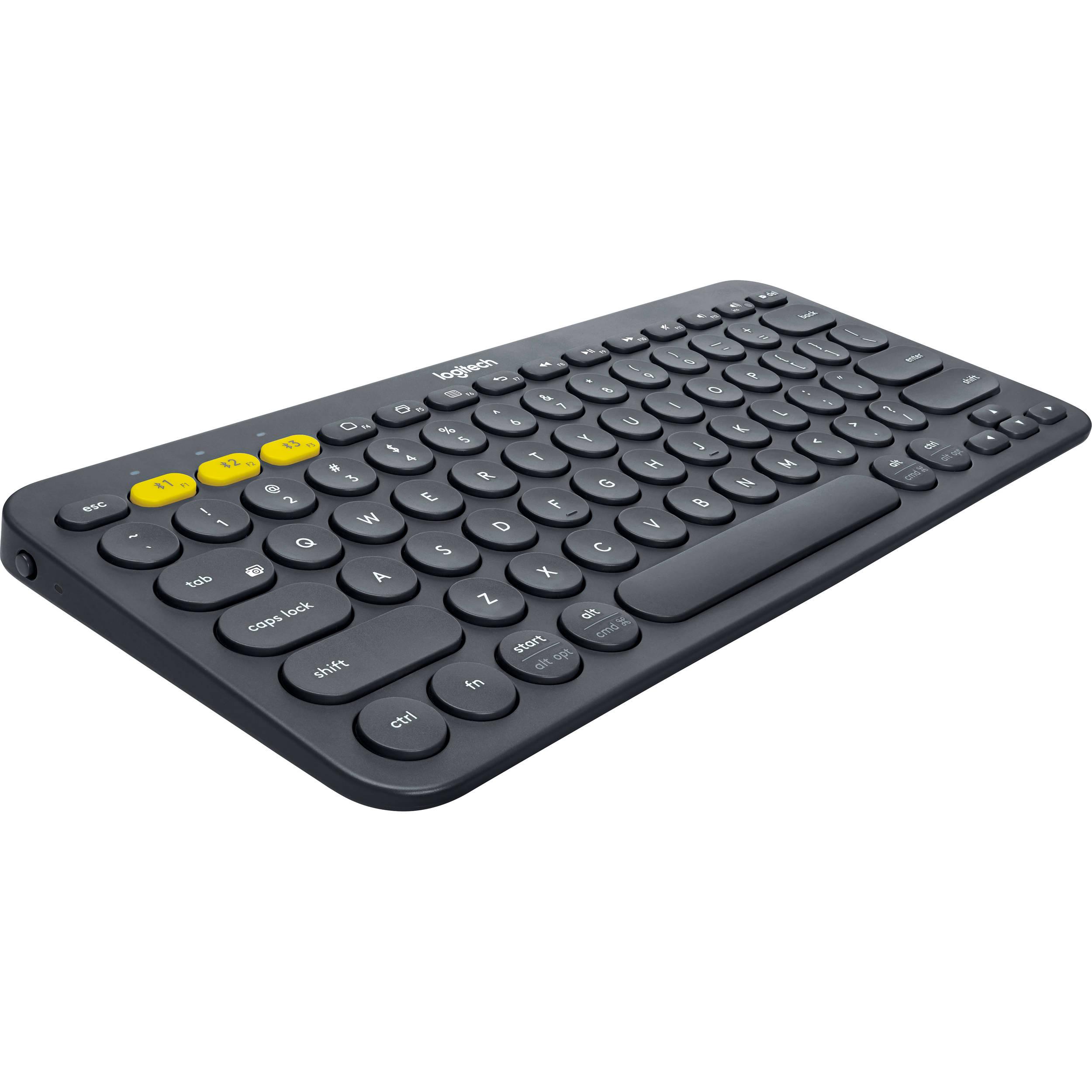 Logitech K380 Bluetooth Keyboard (Black)