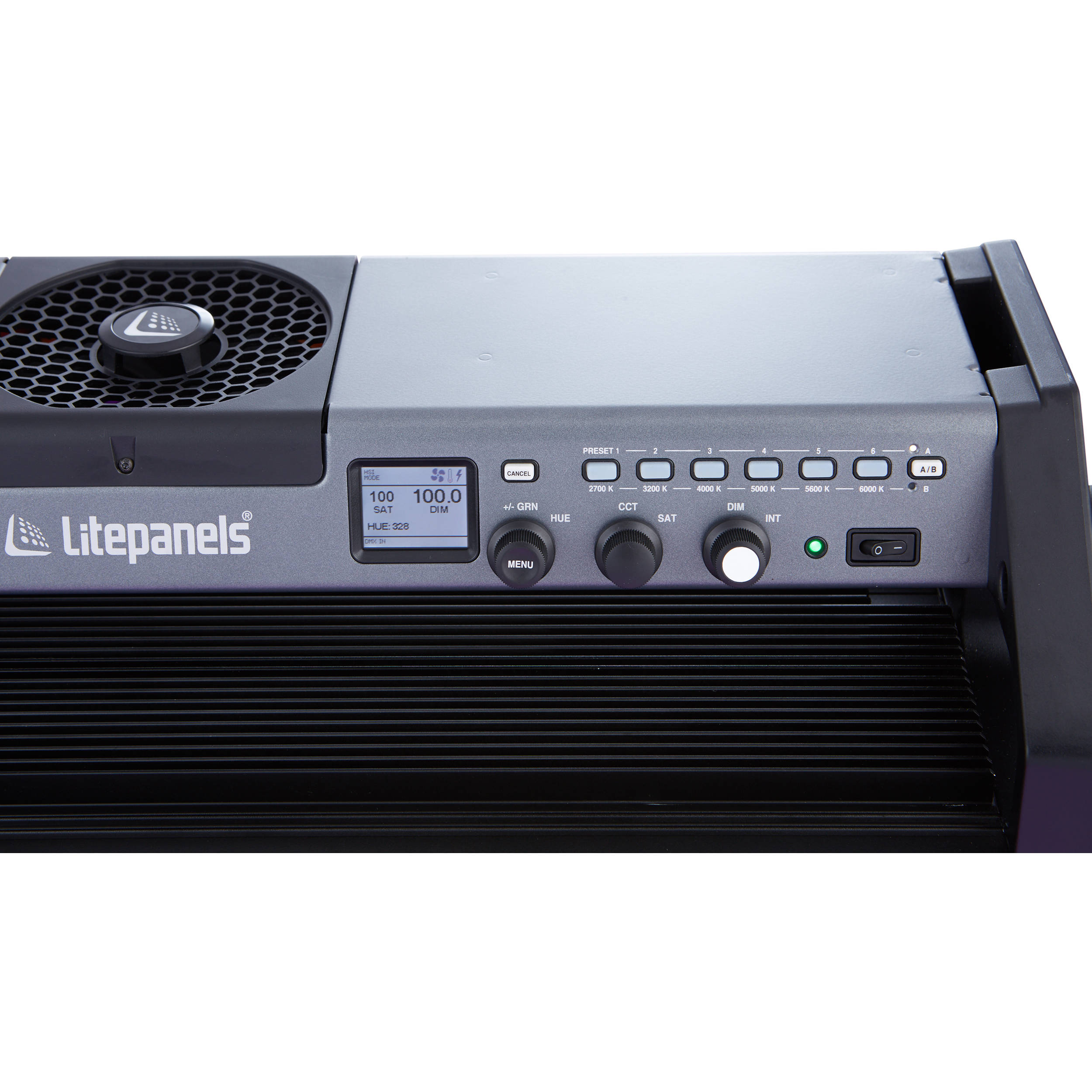 US powerCon Litepanels Gemini 2x1 Soft Panel