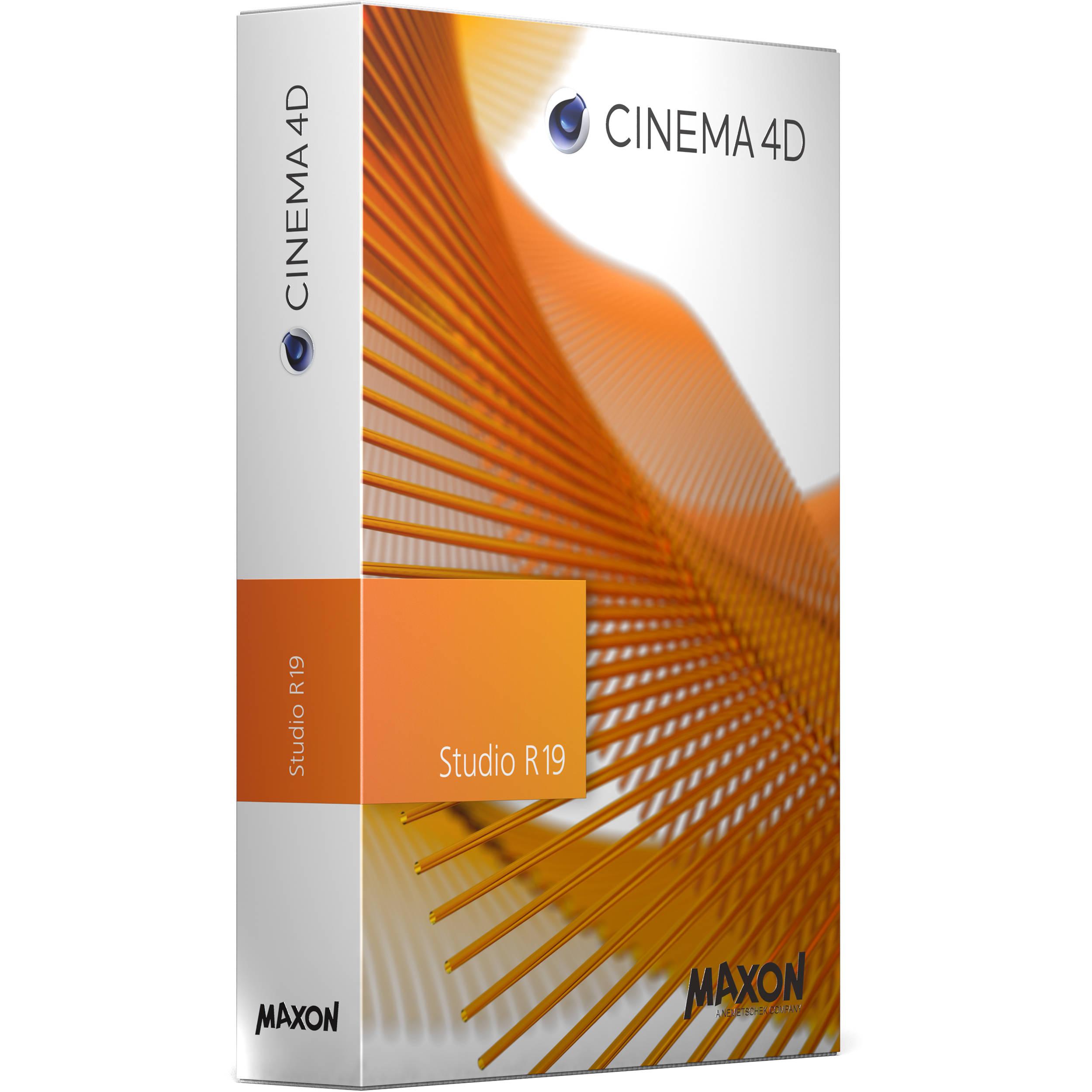 Maxon Cinema 4D Studio R19 (Upgrade from Prime R17, Download)