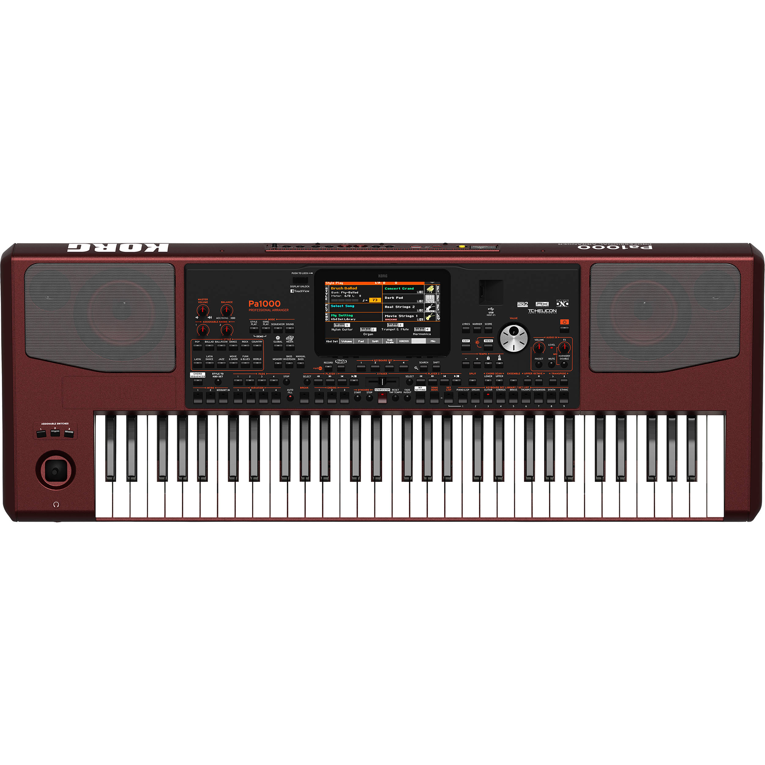 Korg Pa1000 61-Key Pro Arranger with Speakers