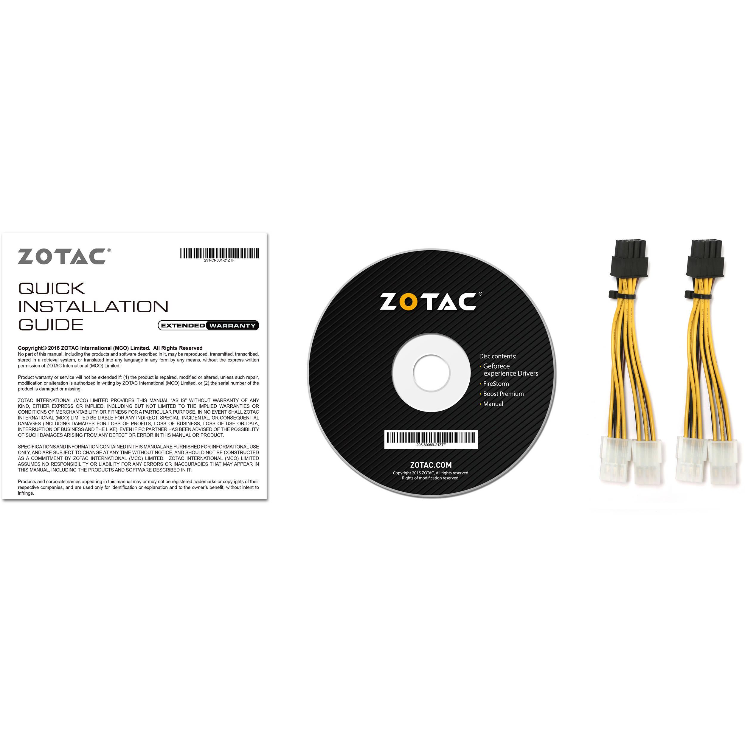ZOTAC GeForce GTX 1070 Ti AMP! Edition Graphics Card