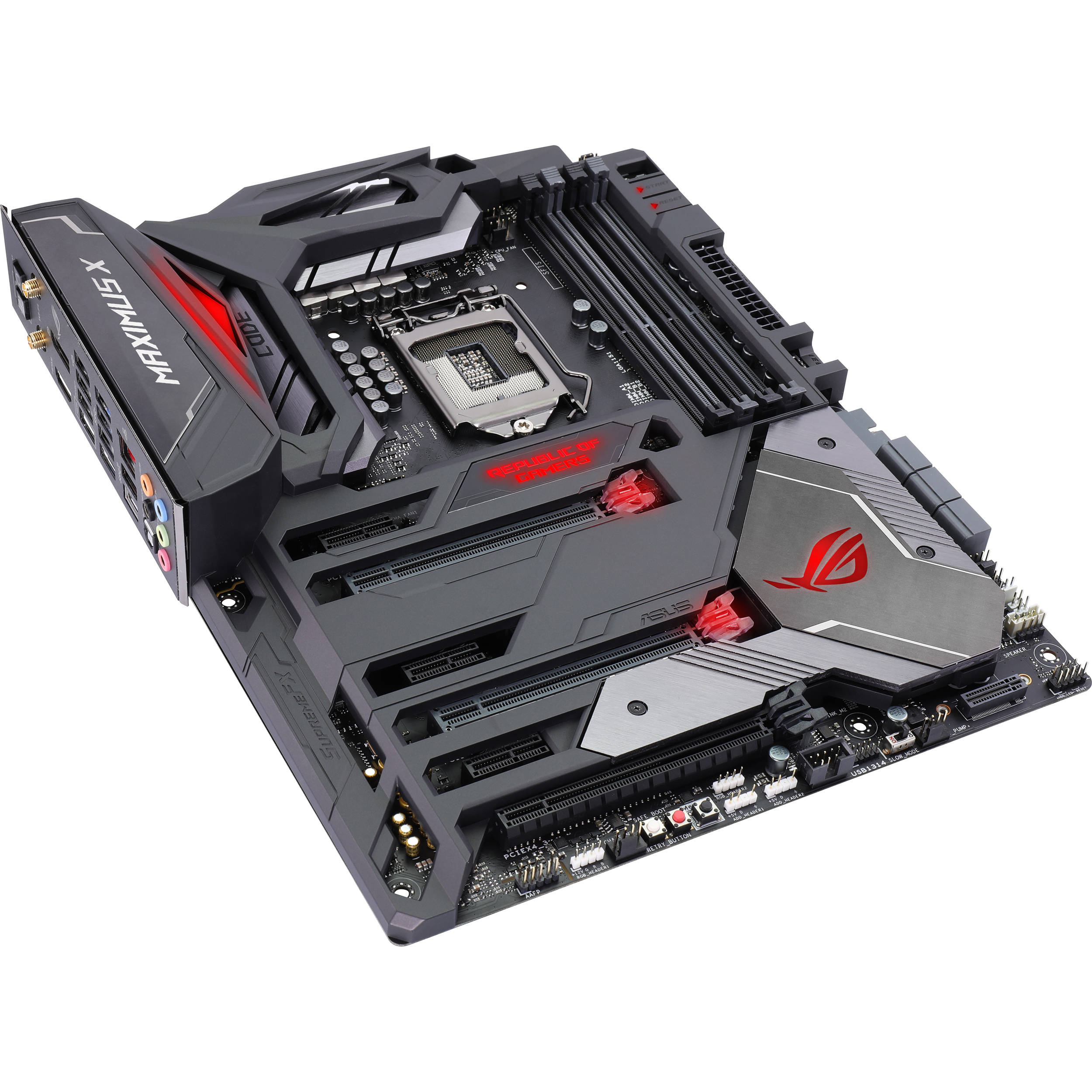 ASUS ROG Maximus X Code LGA 1151 Z370 ATX Motherboard
