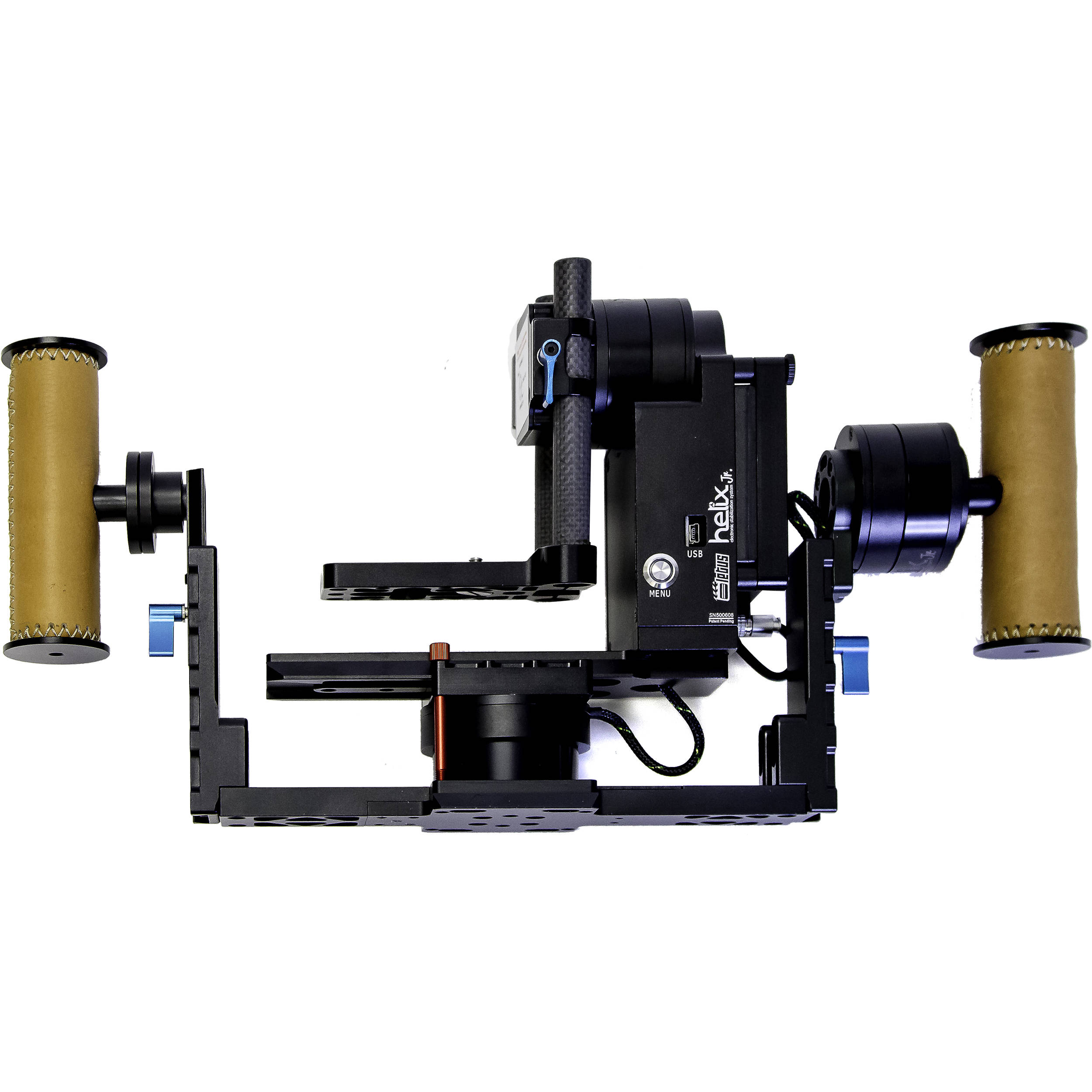 Letus35 Helix Jr  Handheld Gimbal Stabilizer with Bluetooth, Wi-Fi, and  Encoders (Aluminum)