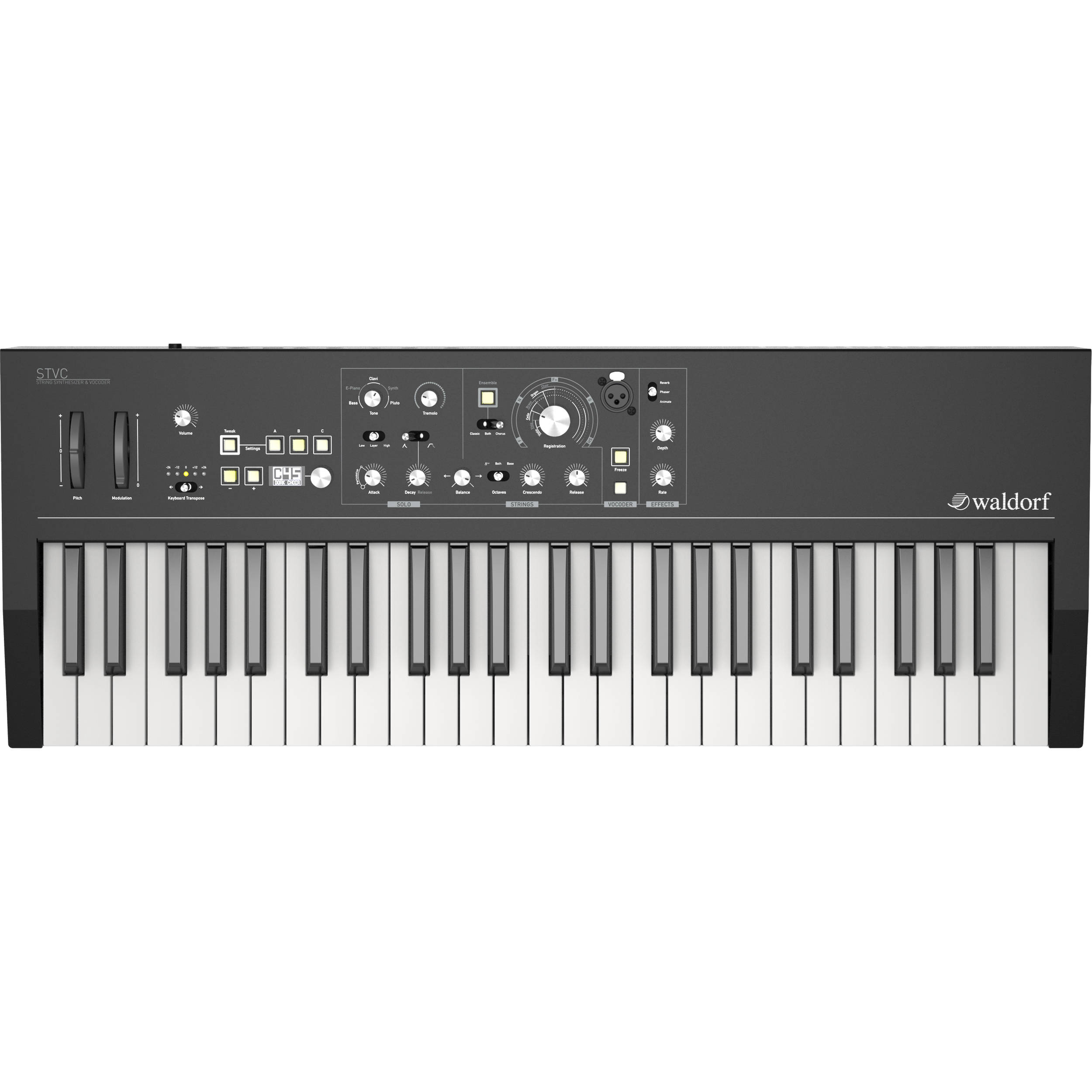 Waldorf STVC - String Synthesizer and Vocoder