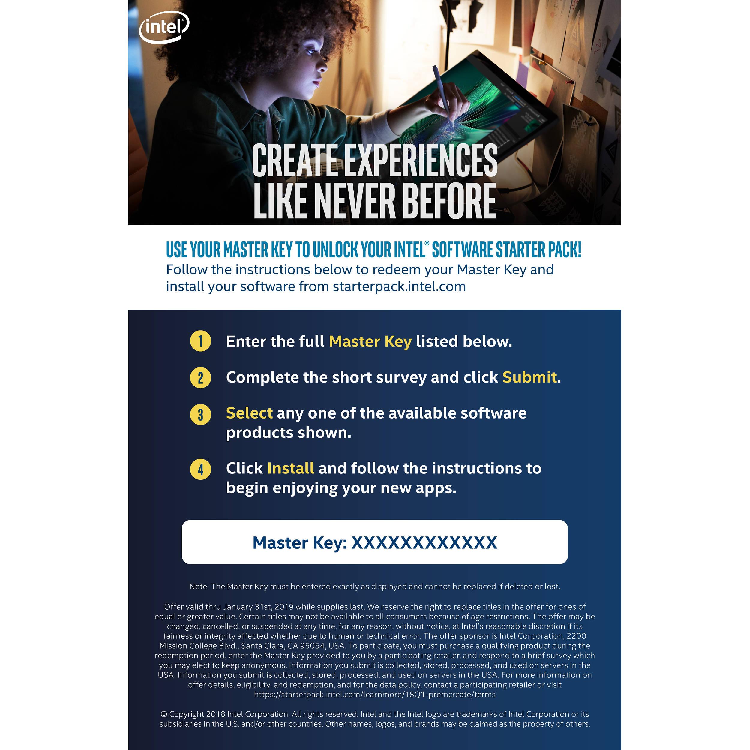 Intel Premium Creativity Bundle