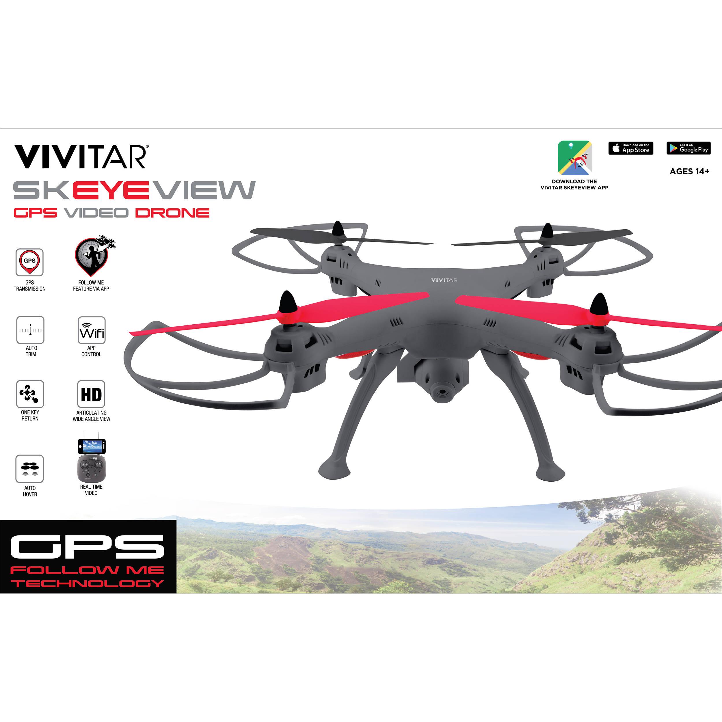 Vivitar DRC444 Wi-Fi Camera Drone