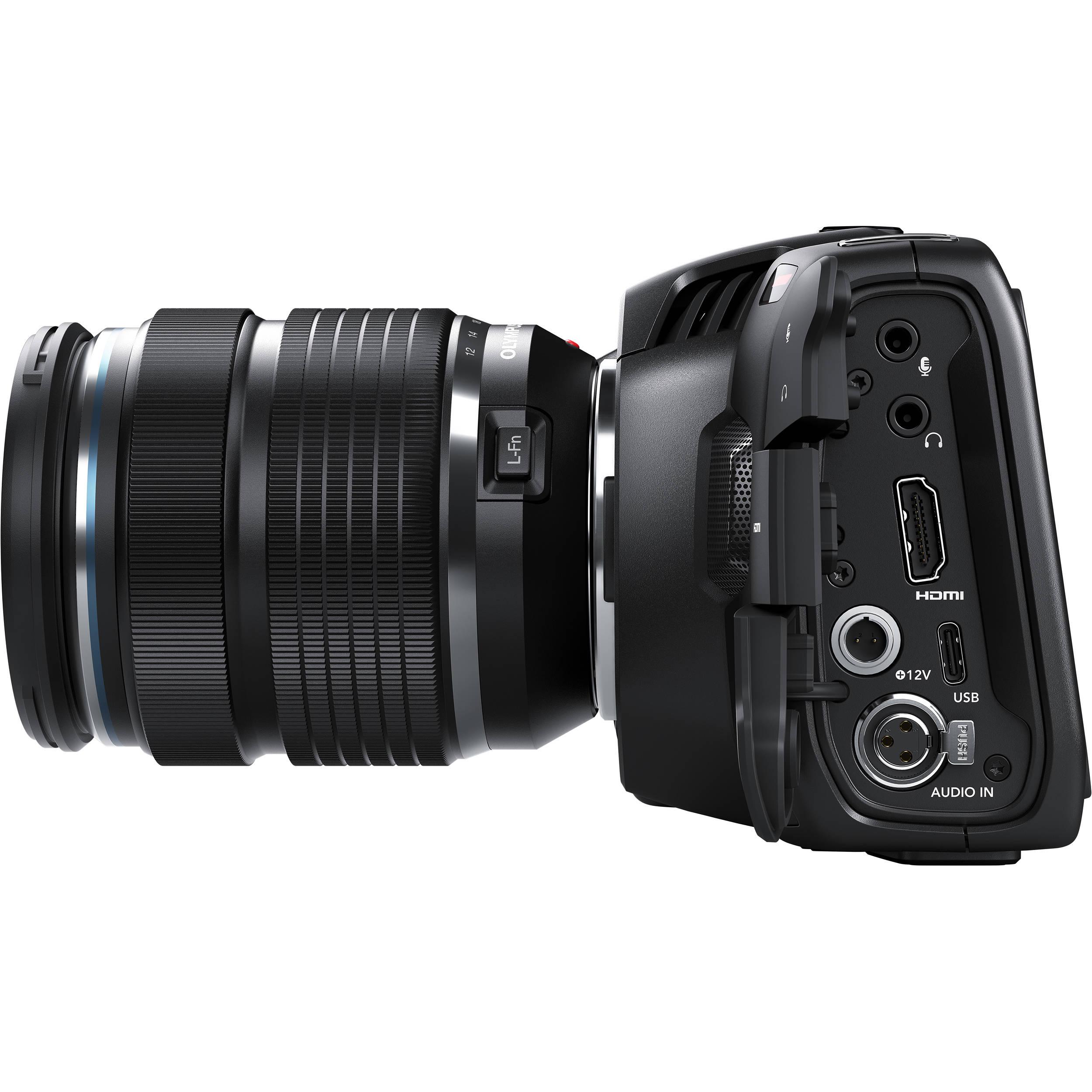 Blackmagic Design Pocket Cinema Camera 4k Cinecampochdmft4k B H