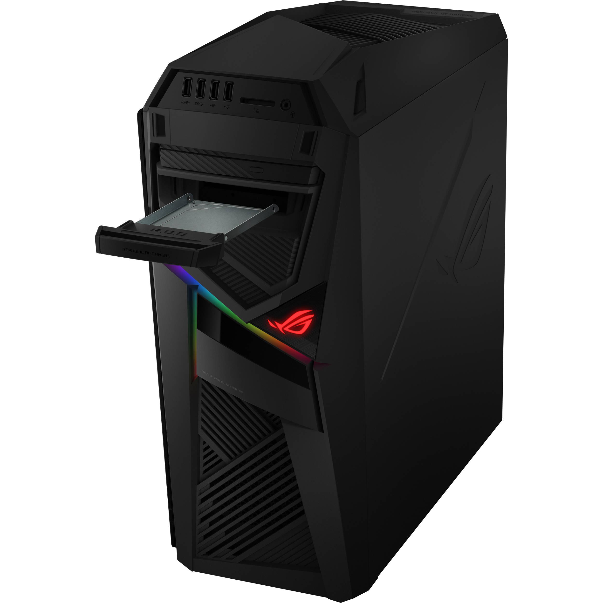 ASUS Republic of Gamers Strix GL12 Gaming Desktop