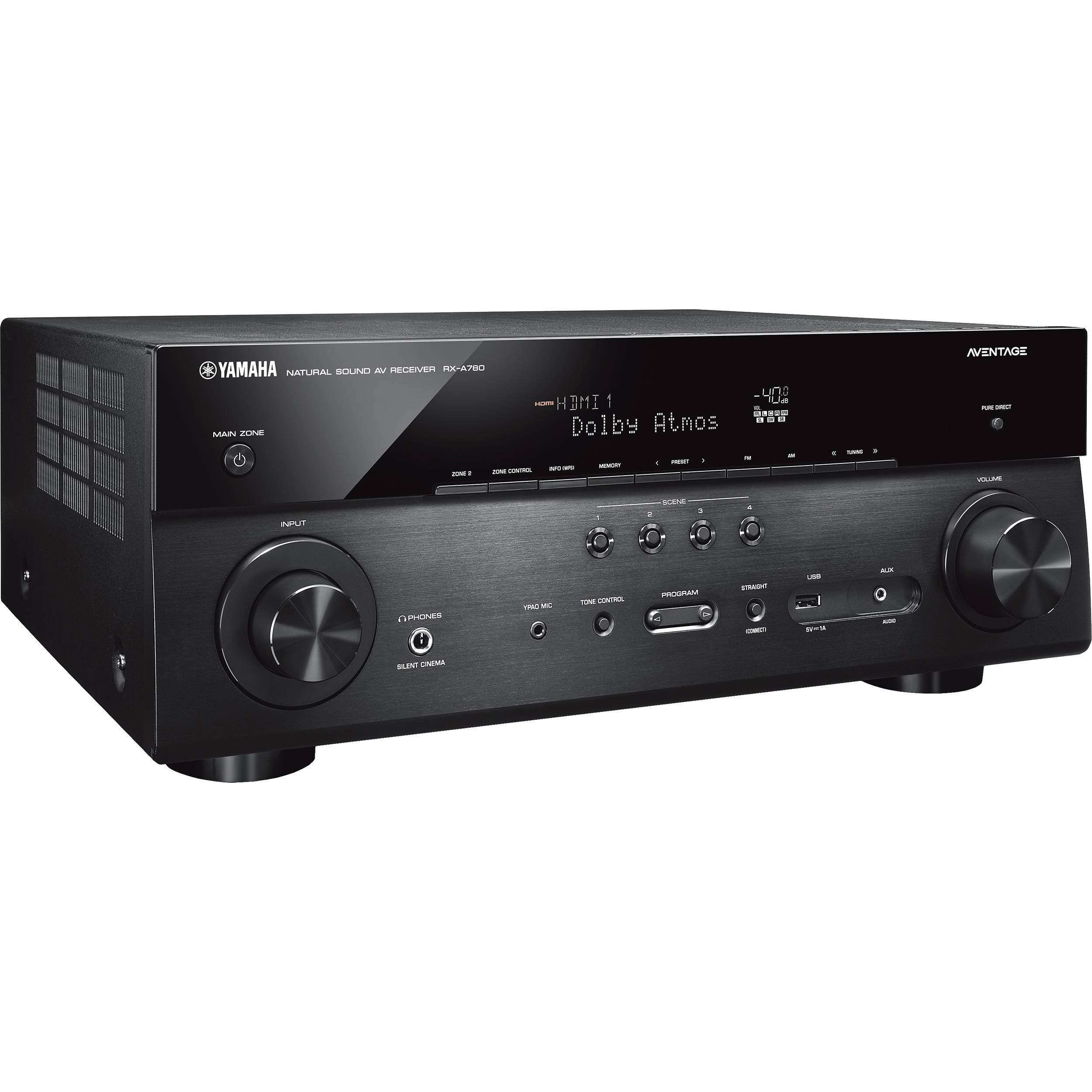 Yamaha AVENTAGE RX-A780 7 2-Channel Network A/V Receiver