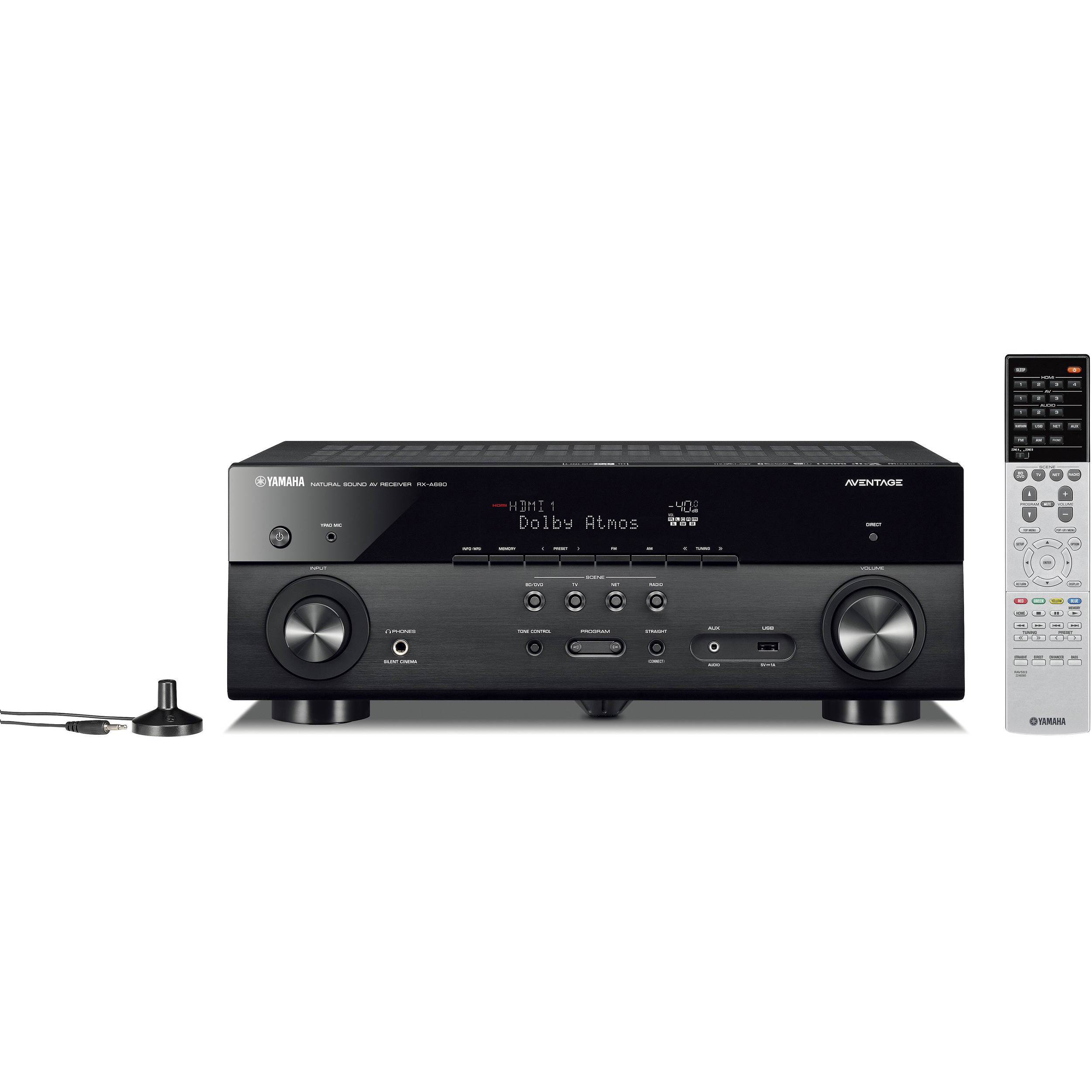 Yamaha AVENTAGE RX-A680 7 2-Channel Network A/V Receiver