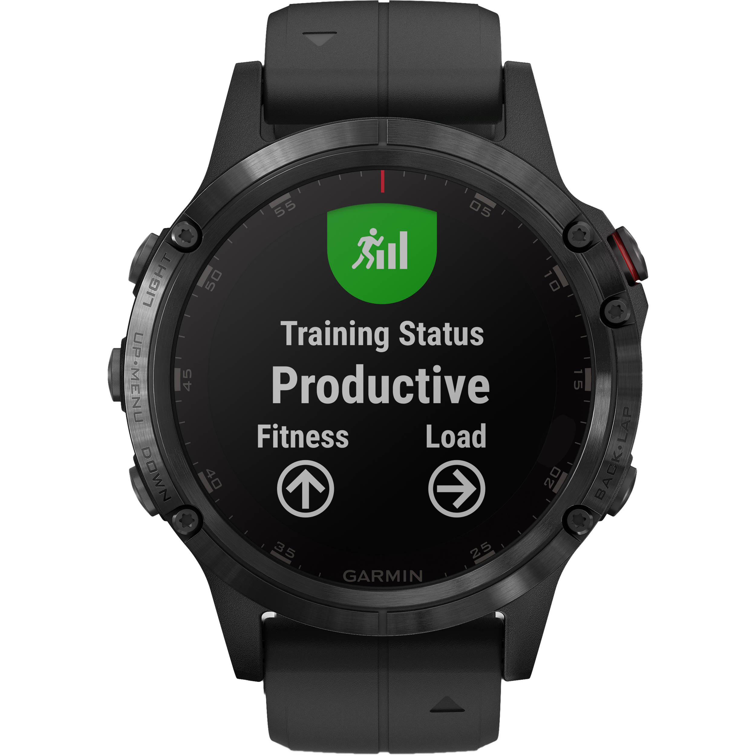 Garmin fenix 5 Plus Sapphire Edition Multi-Sport Training GPS Watch (47mm,  Black with Black Band)