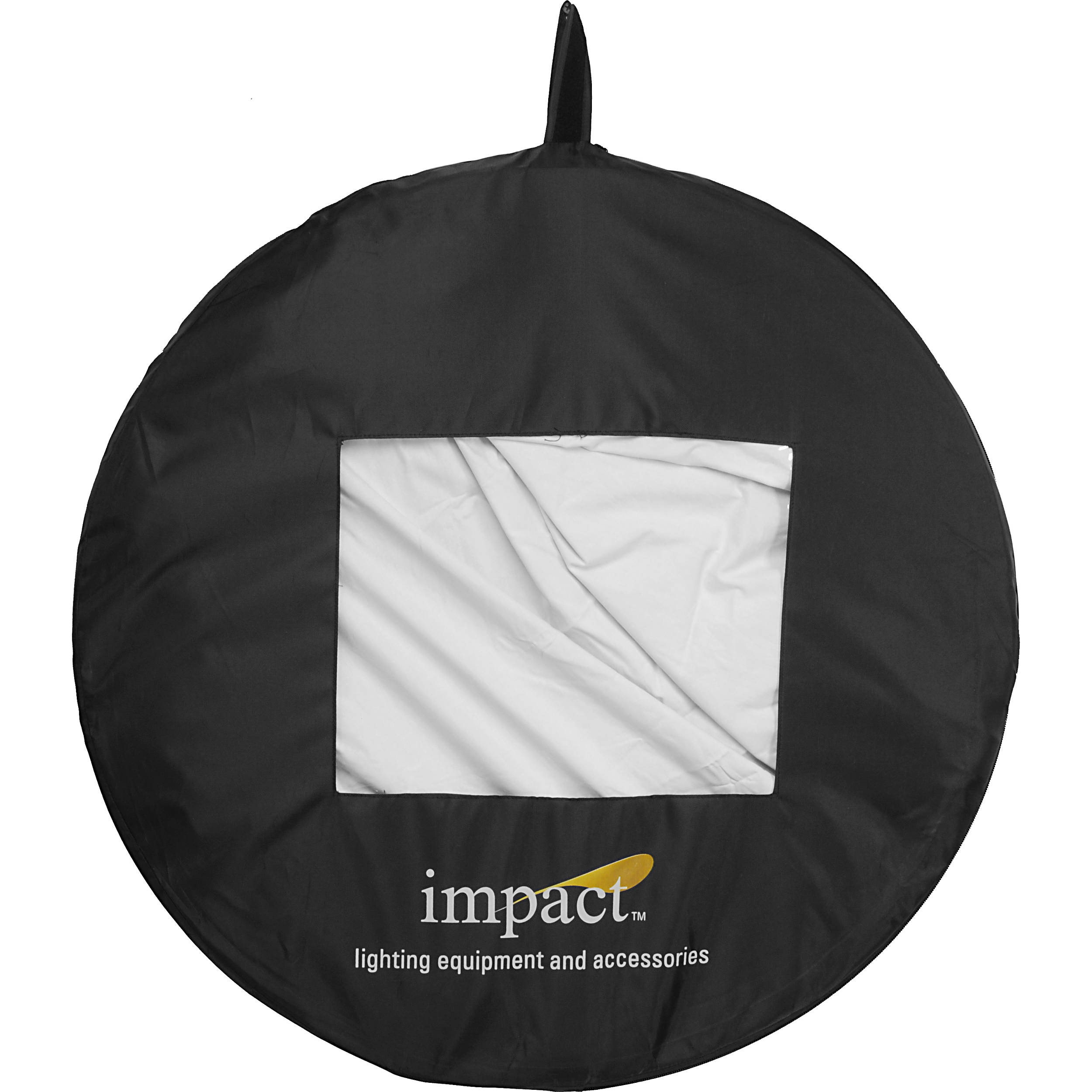 5 x 7/' Black//White Impact Collapsible Background