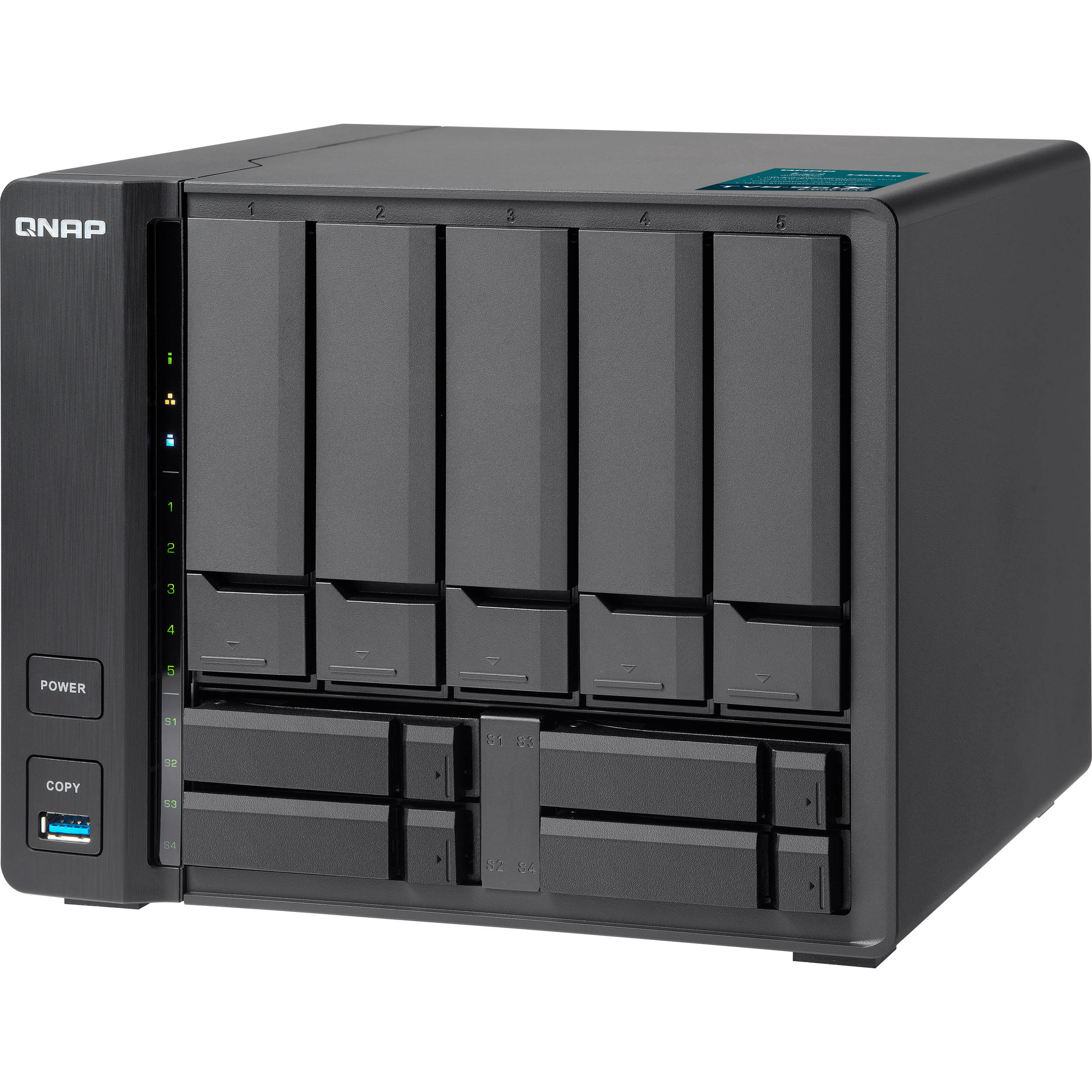 QNAP TVS-951X 9-Bay NAS Enclosure