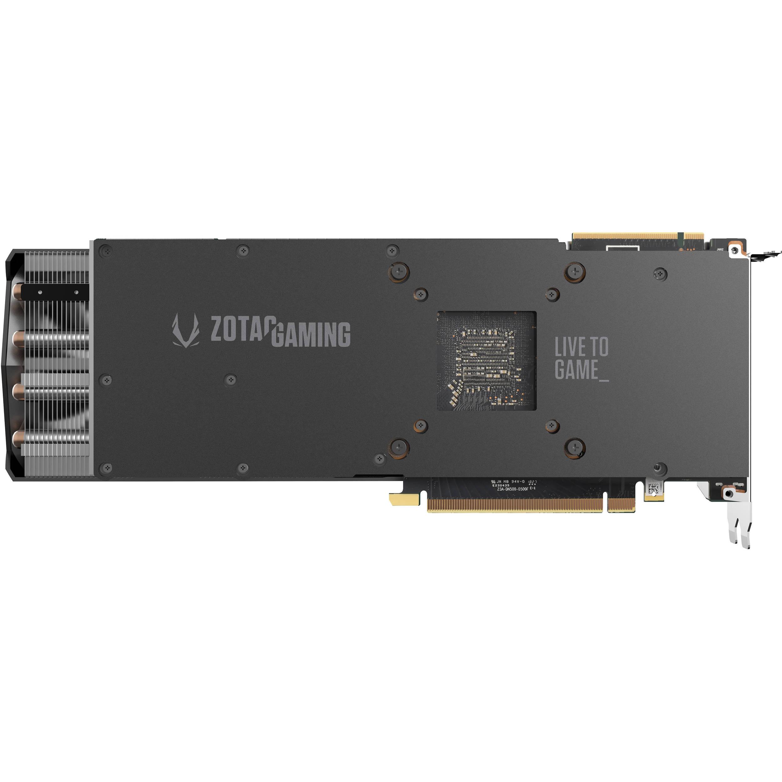 ZOTAC GAMING GeForce RTX 2080 AMP Graphics Card
