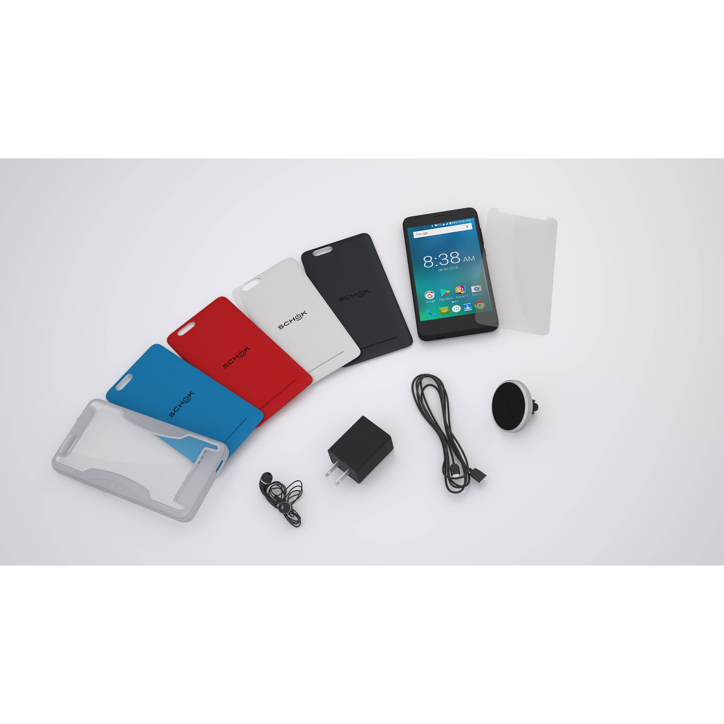 SCHOK Freedom Turbo 16GB Smartphone (Unlocked / Multicolor)