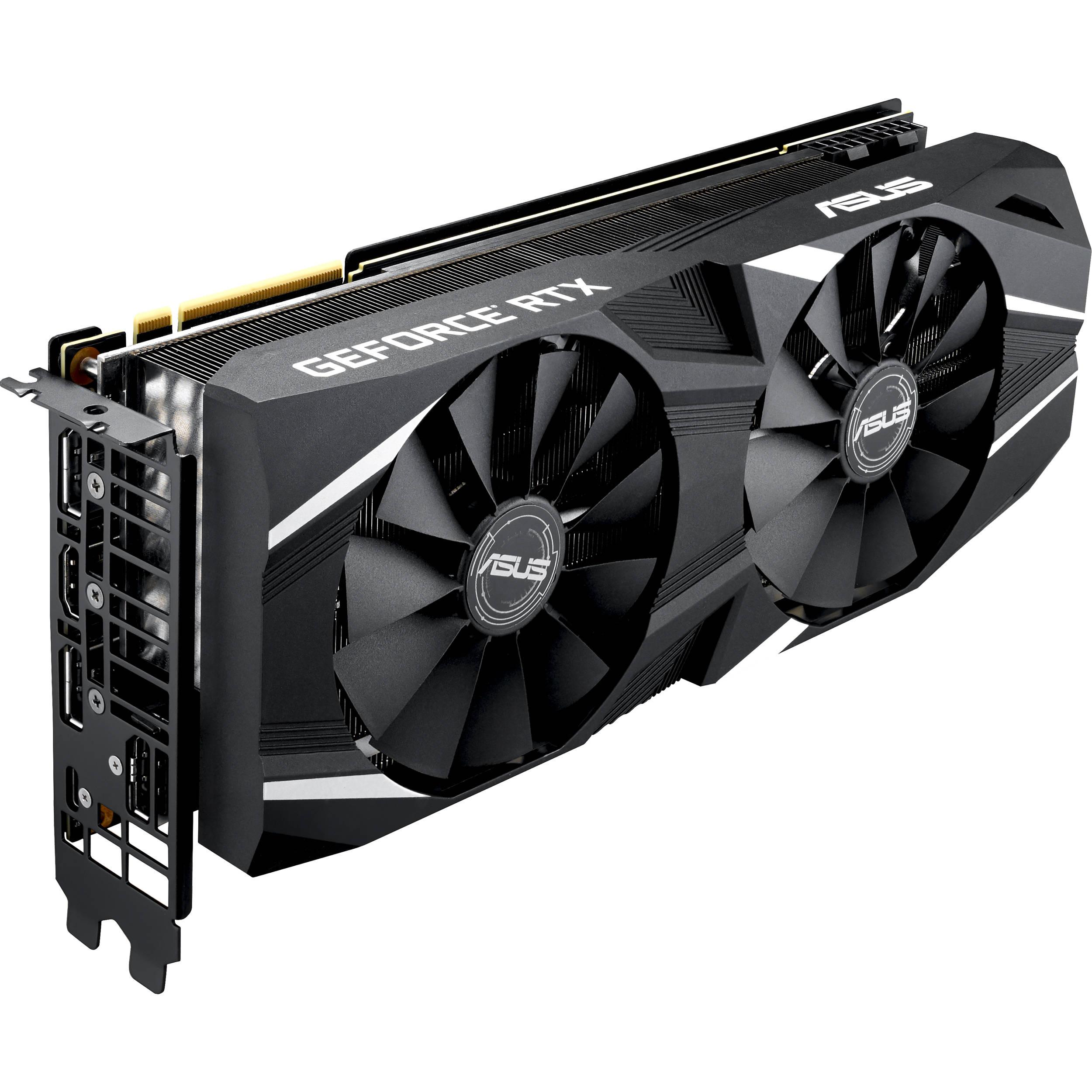 ASUS Dual GeForce RTX 2080 Ti OC Edition Graphics Card