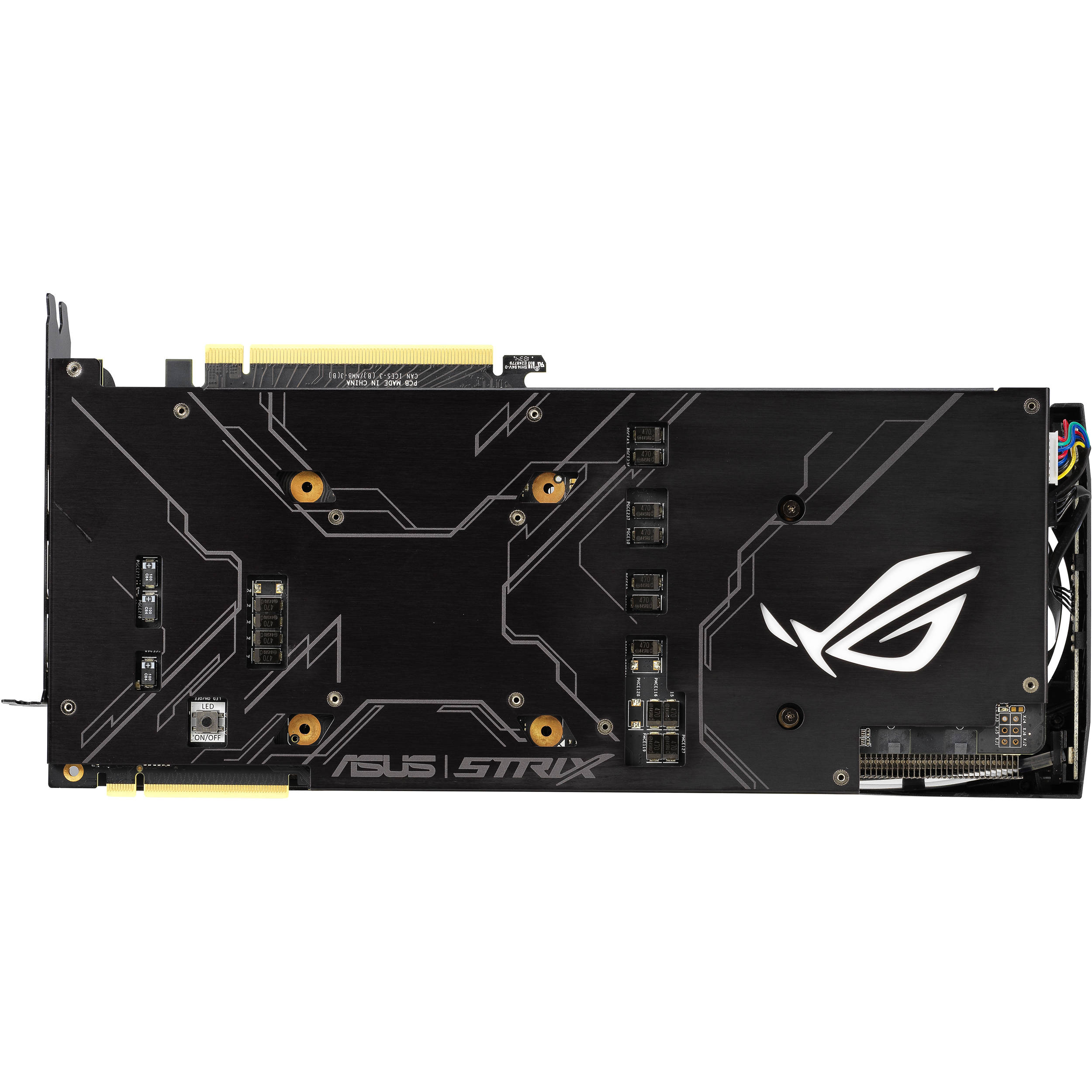 ASUS Republic of Gamers Strix GeForce RTX 2080 Ti OC Edition Graphics Card