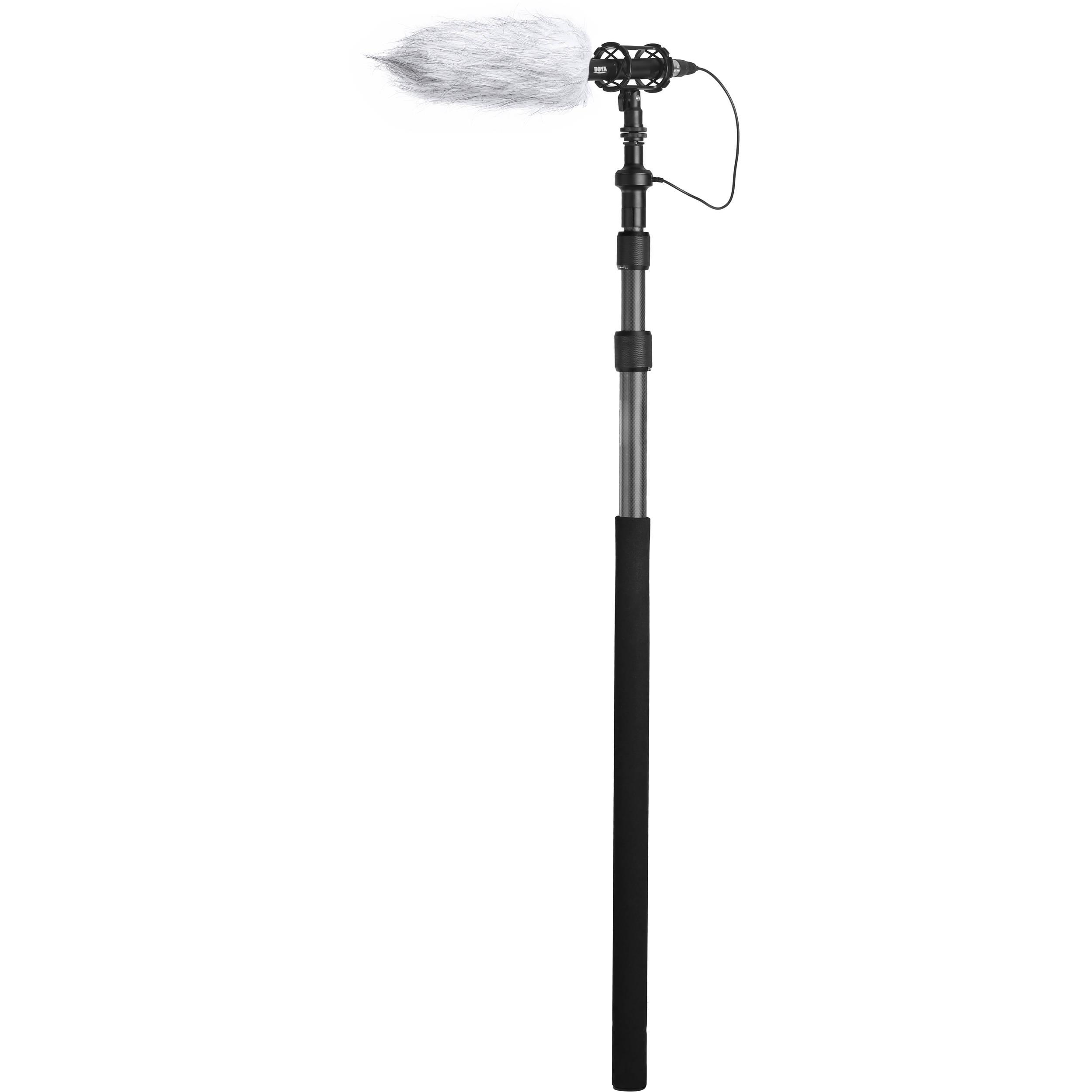 Boya By Pb25 Universal Carbon Fiber Boompole By Pb25 B H Photo
