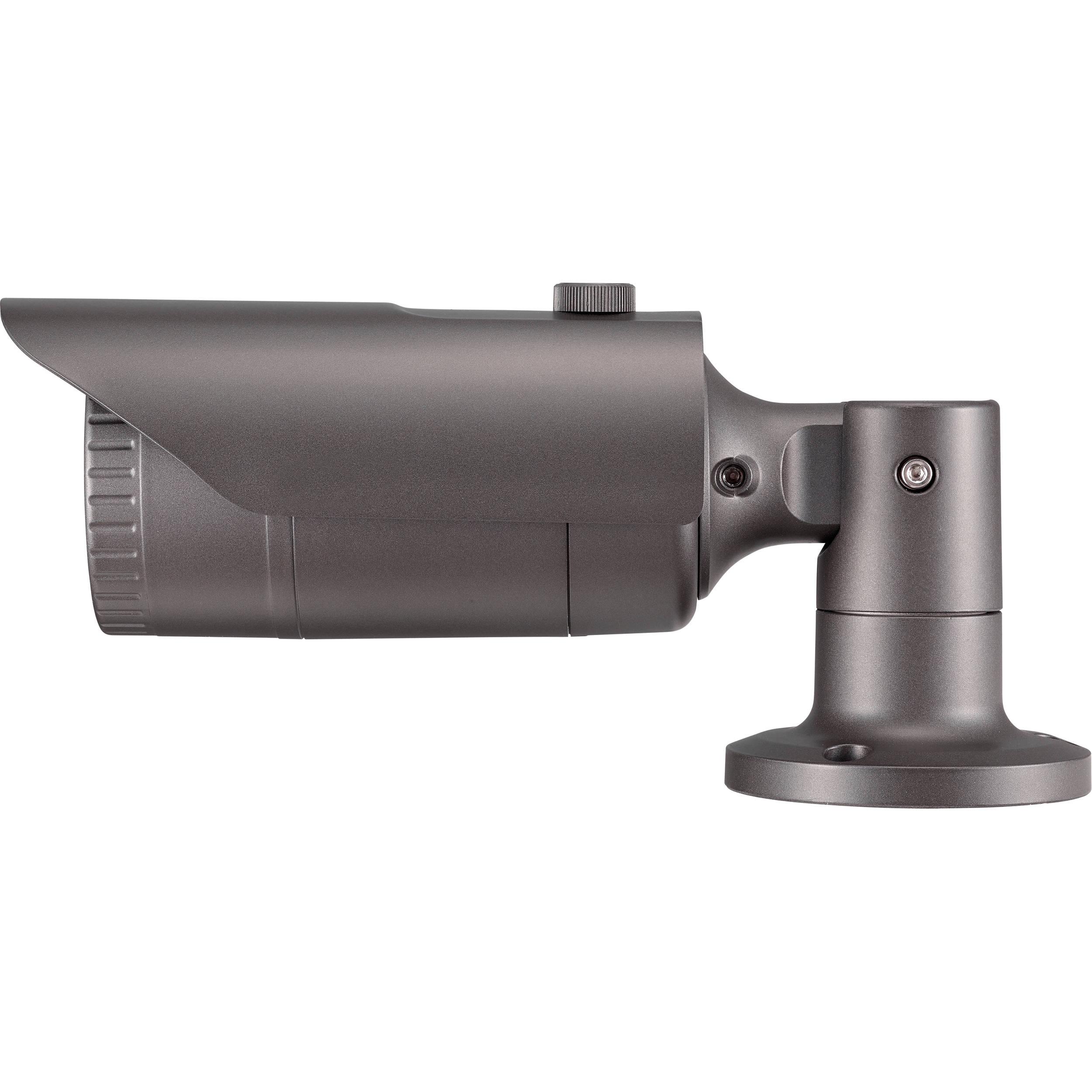 SAMSUNG QNO-7030R 4MP FULL HD OUTDOOR IR LED 6MM POE CCTV SECURITY BULLET CAMERA