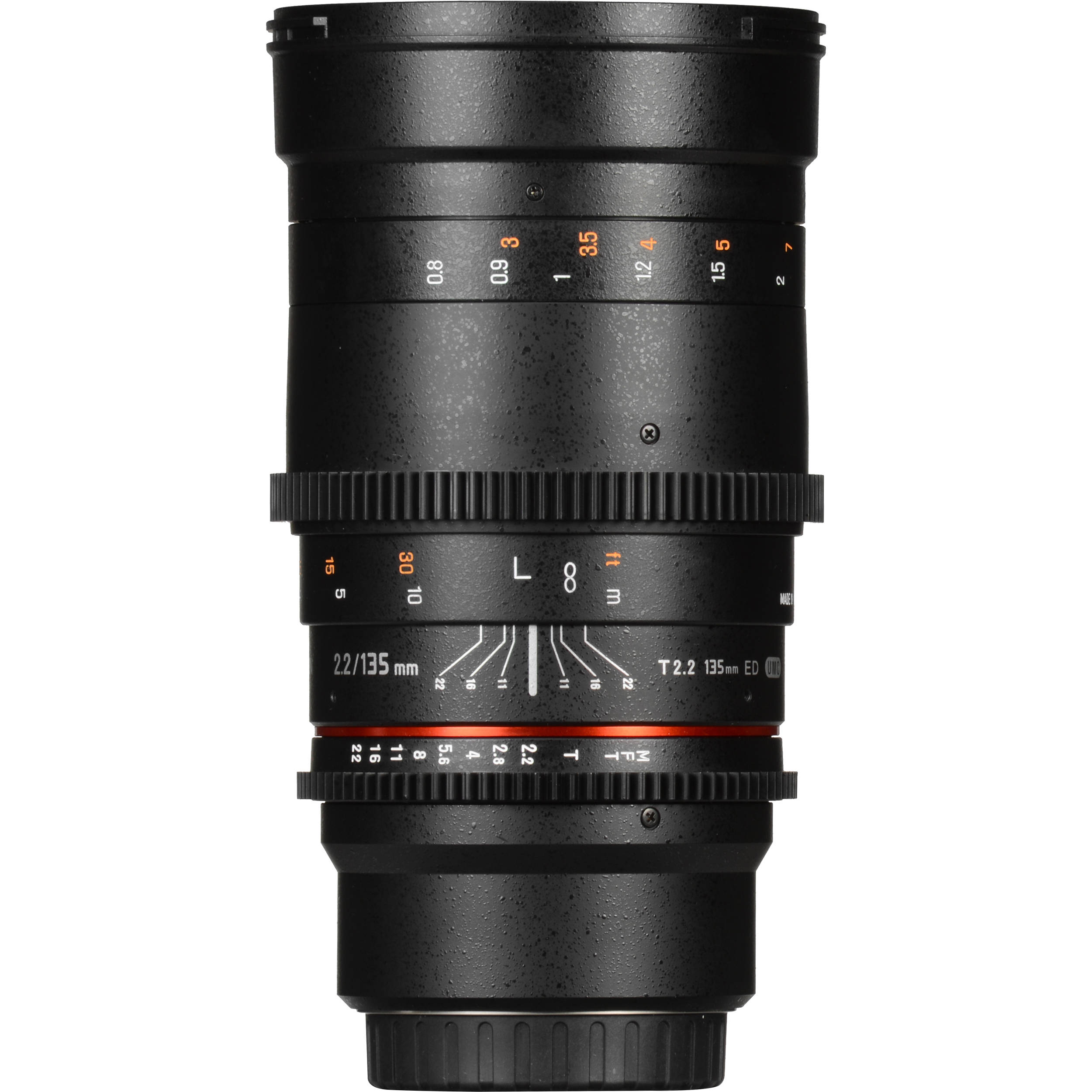 Rokinon 135mm T2 2 Cine DS Lens for Canon EF Mount