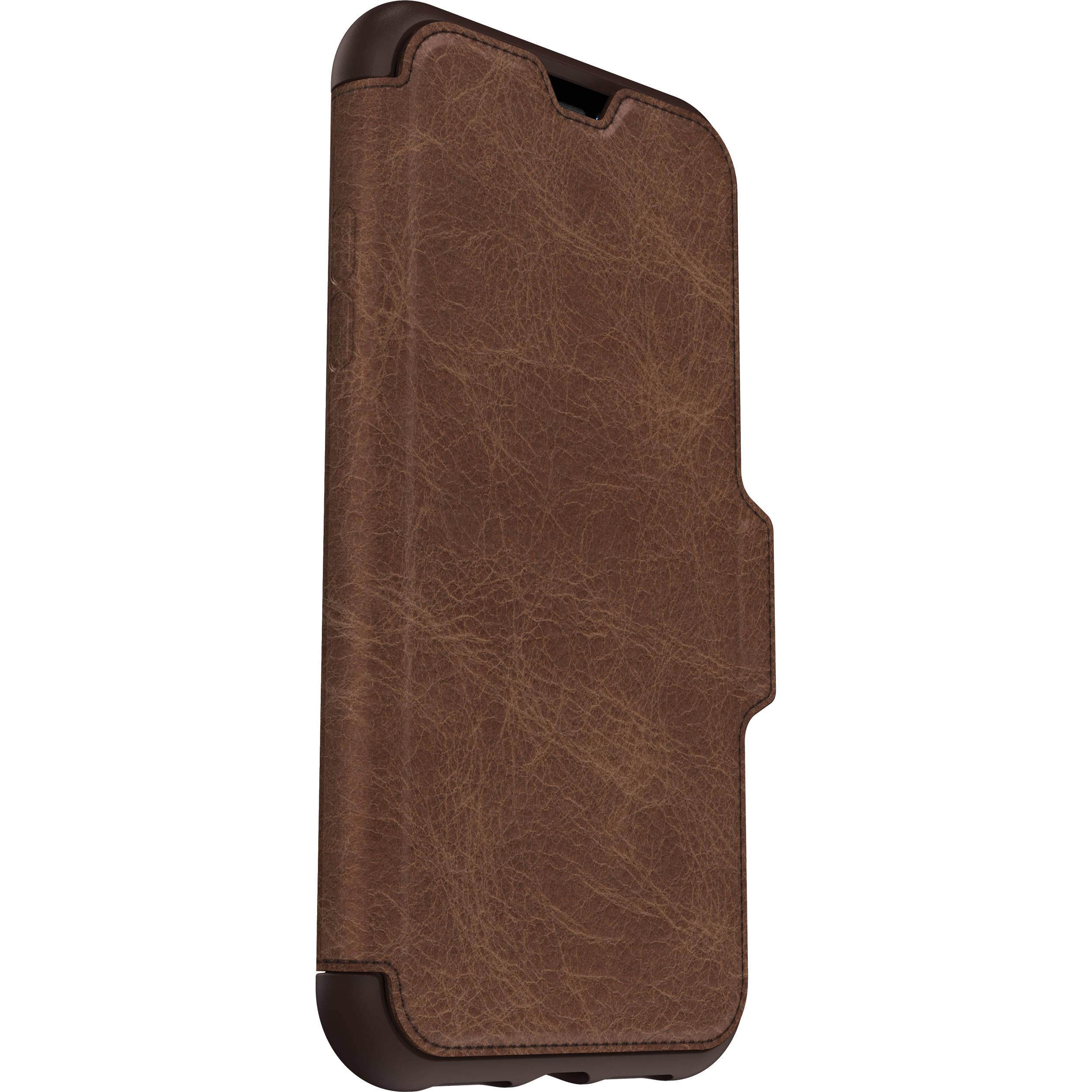 best website 8ada8 b22e5 OtterBox Strada Case for iPhone XR (Espresso)