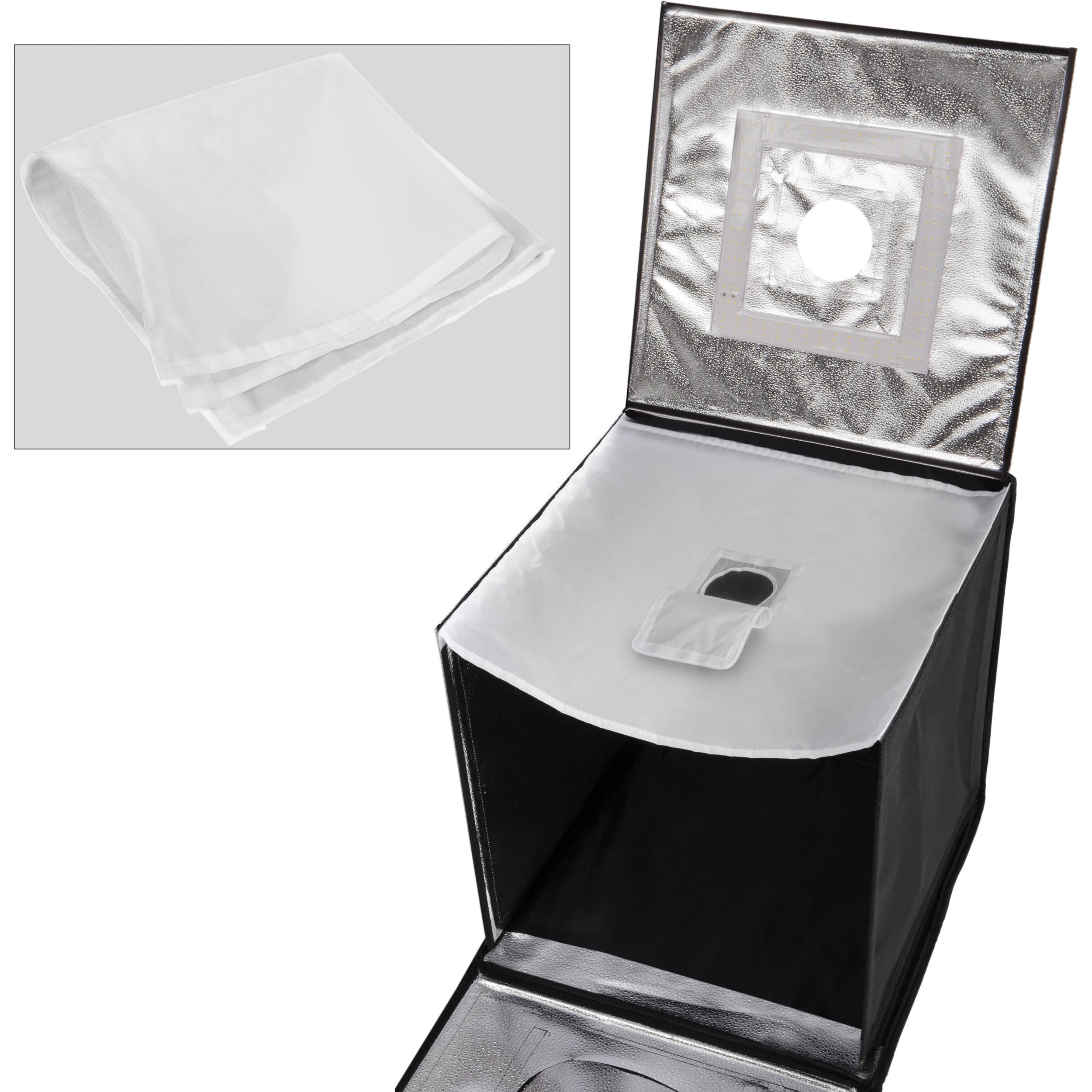 Angler Port-a-Cube LED Light Tent with Dimmer 27
