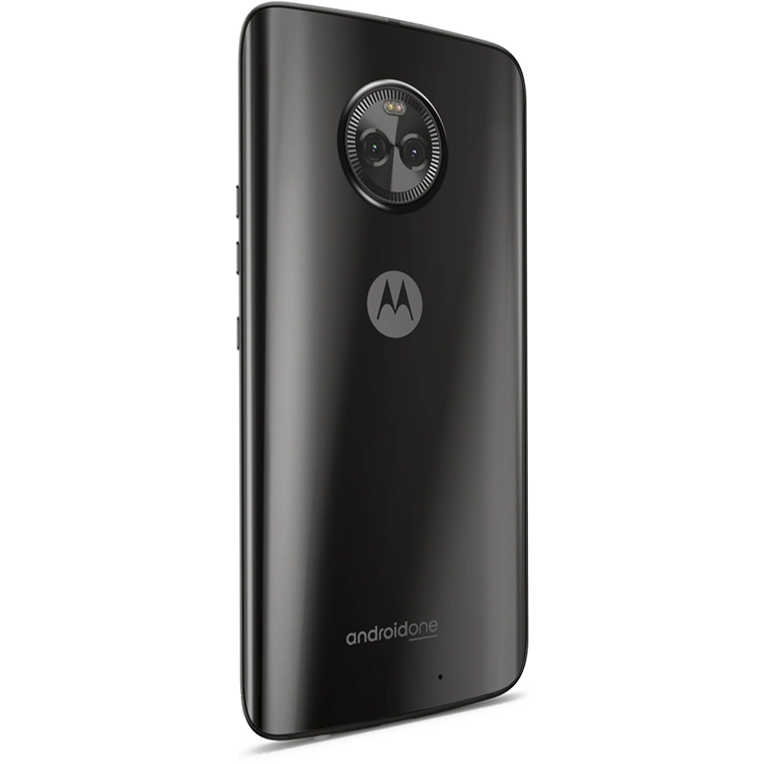 Moto X4 XT1900-1 32GB Smartphone (Unlocked, Android One, Super Black)