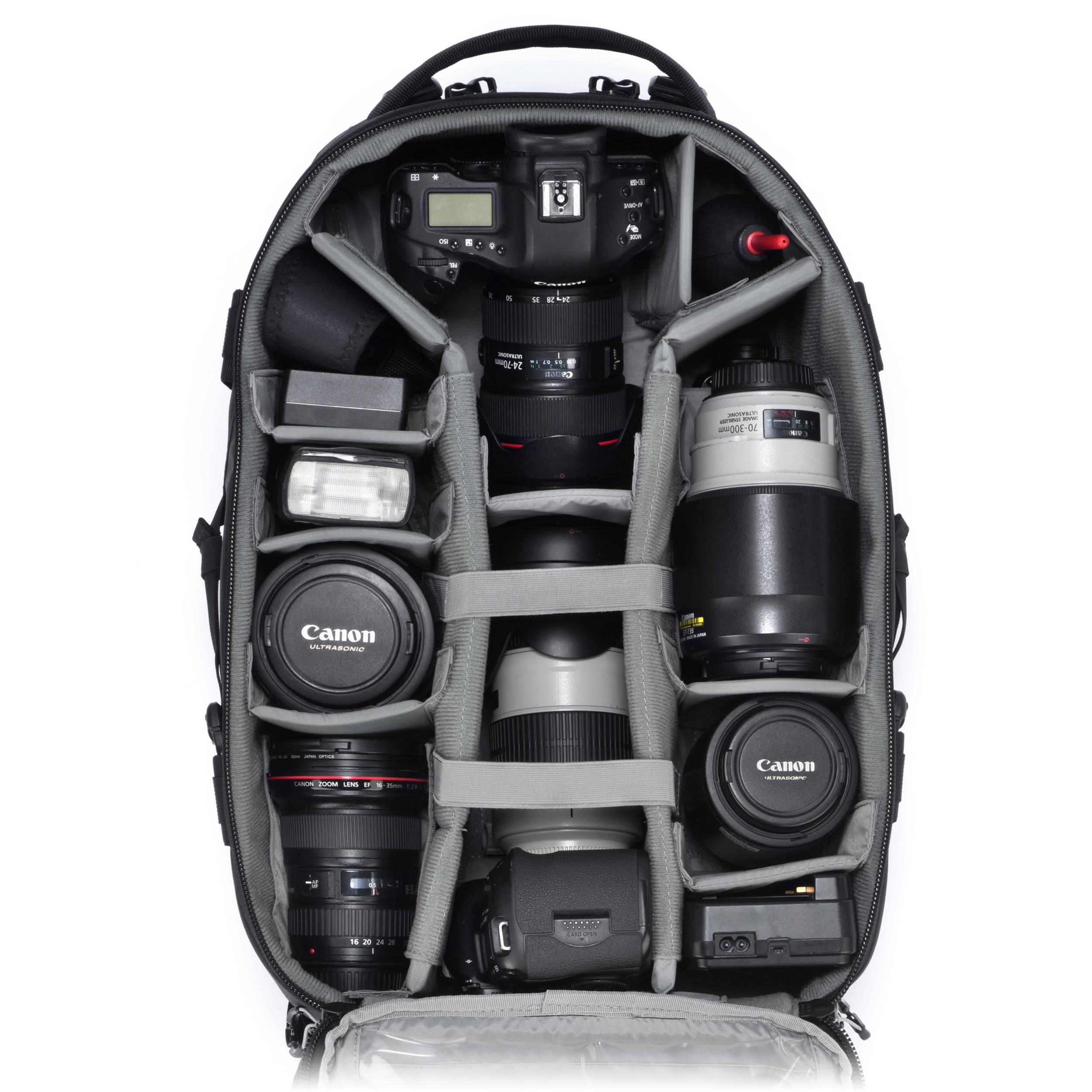 Tamrac Professional Series Anvil 27 Backpack Black