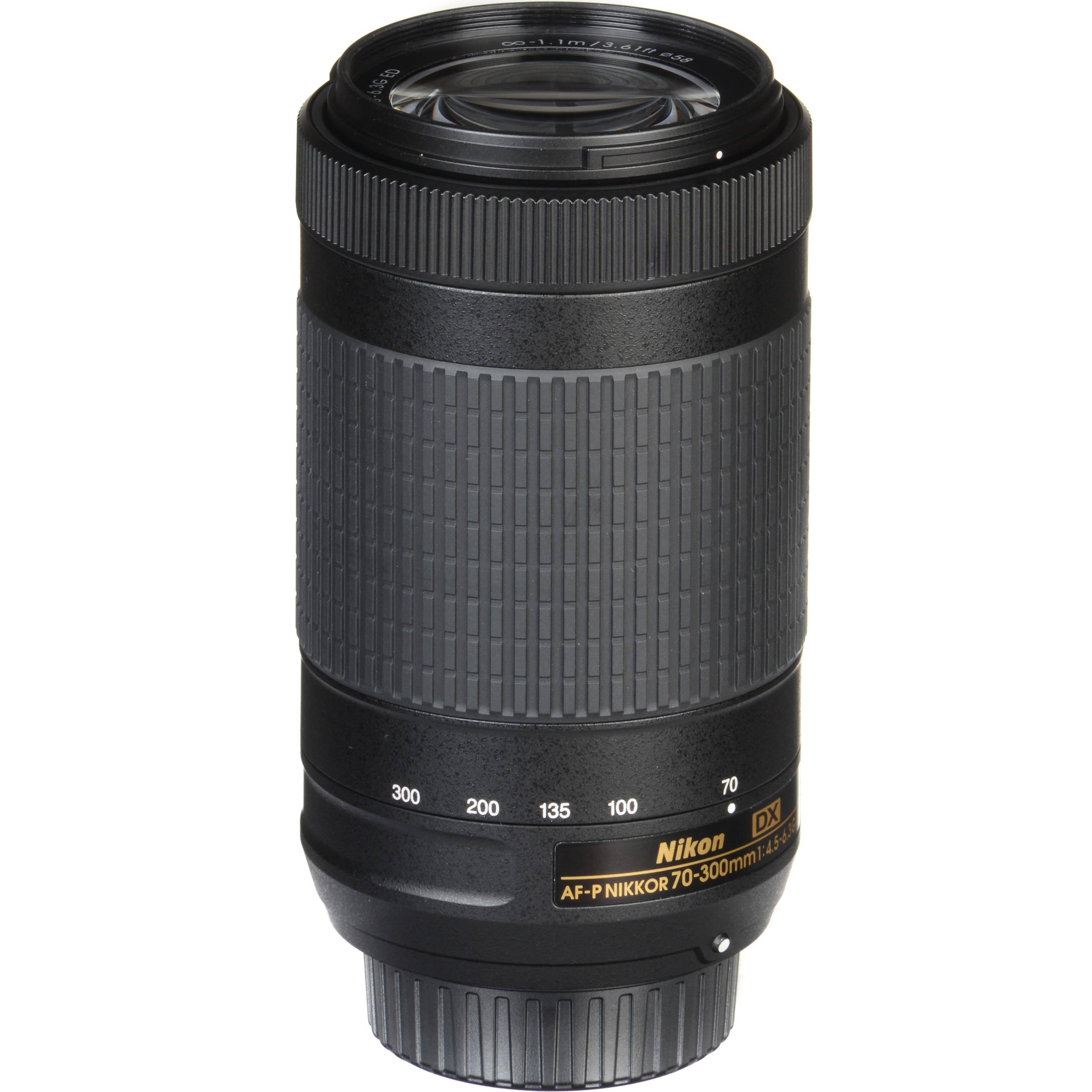 Nikon AF-P DX NIKKOR 70-300mm f/4 5-6 3G ED Lens