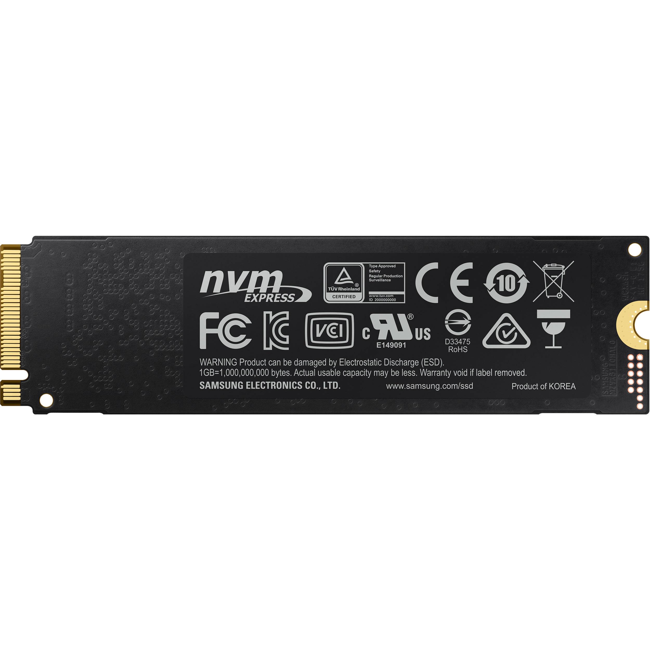 Samsung 250GB 970 EVO Plus NVMe M 2 Internal SSD