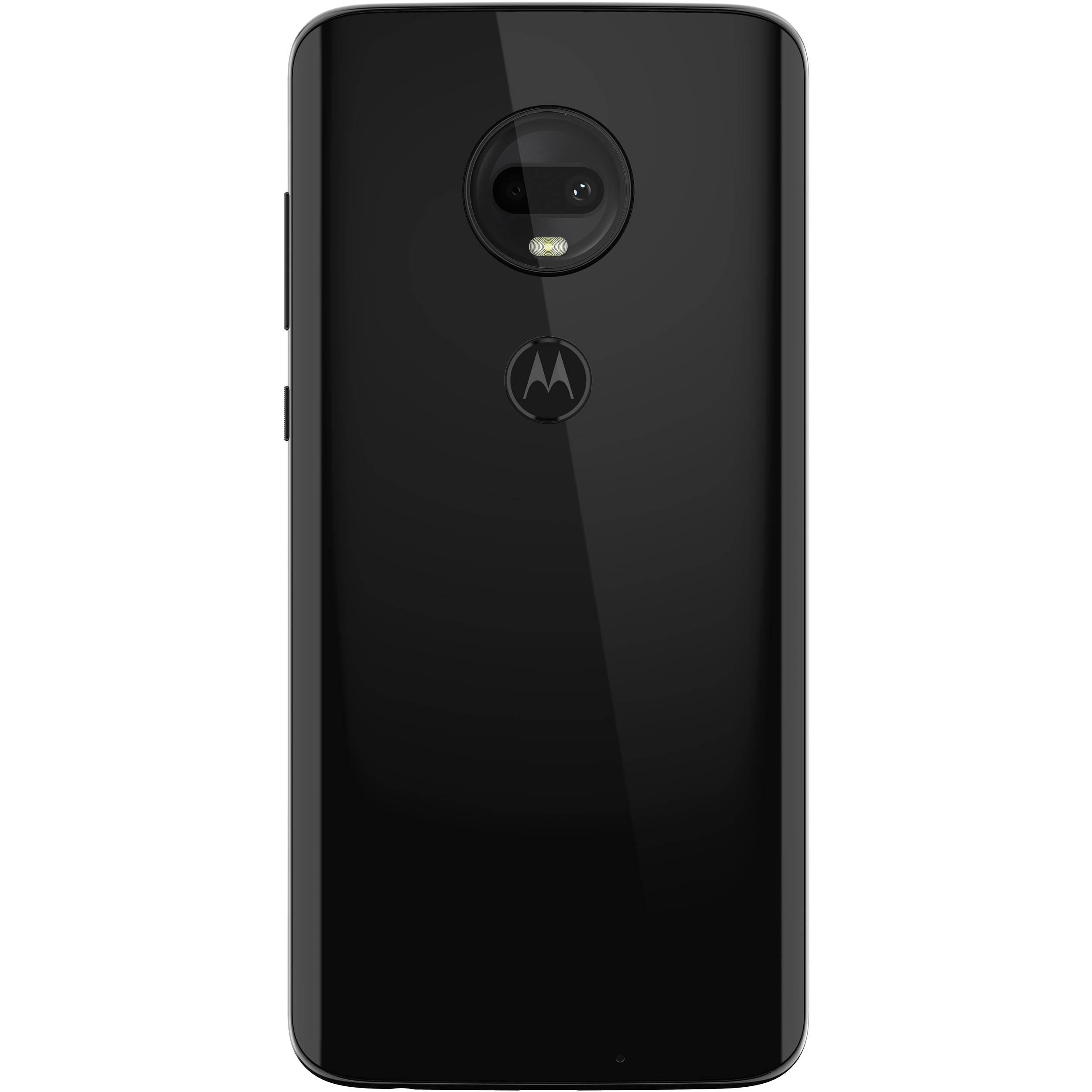 Moto G7 64GB Smartphone (Unlocked, Black)