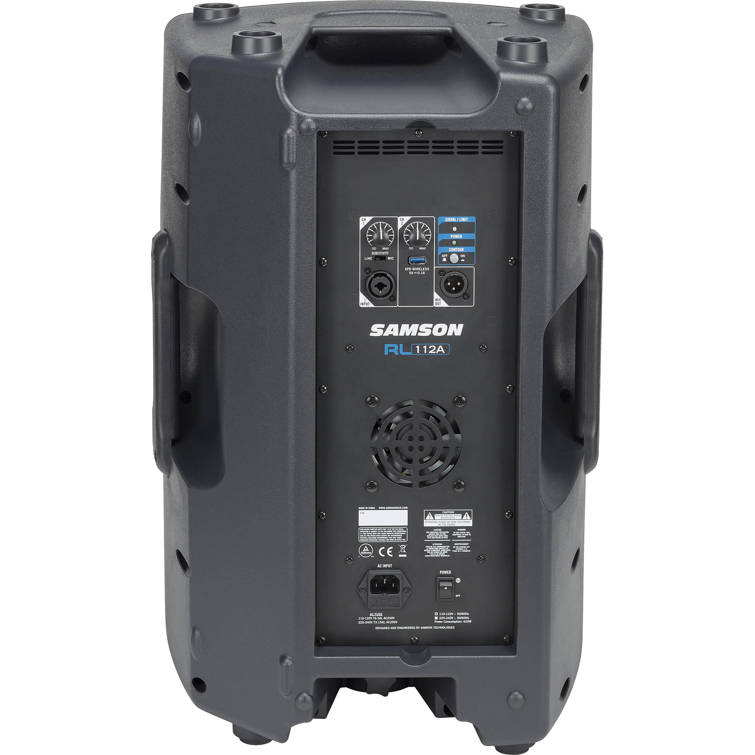 Samson RL112A - 800W 2-Way Active Loudspeaker