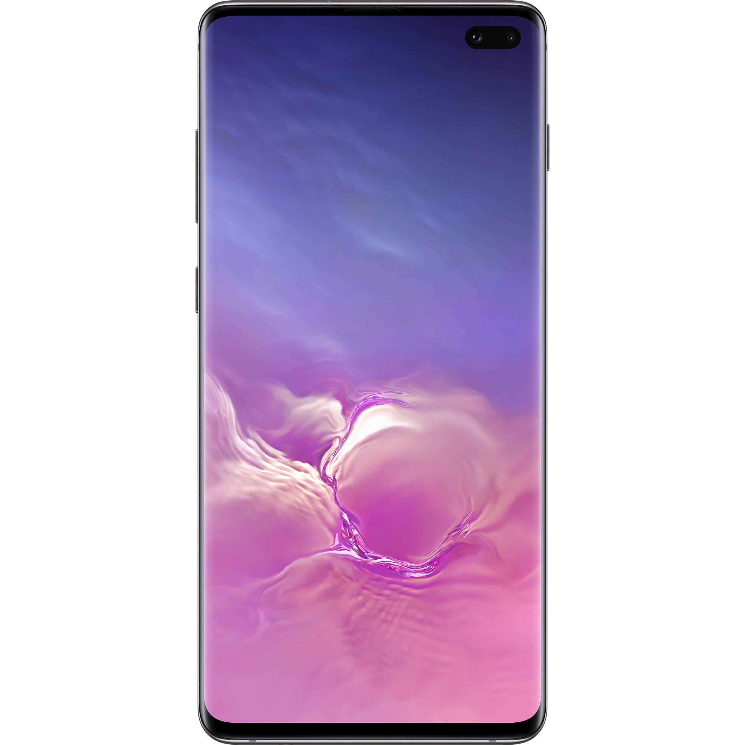 Samsung Galaxy S10+ SM-G975U 128GB Smartphone (Unlocked, Prism Black)