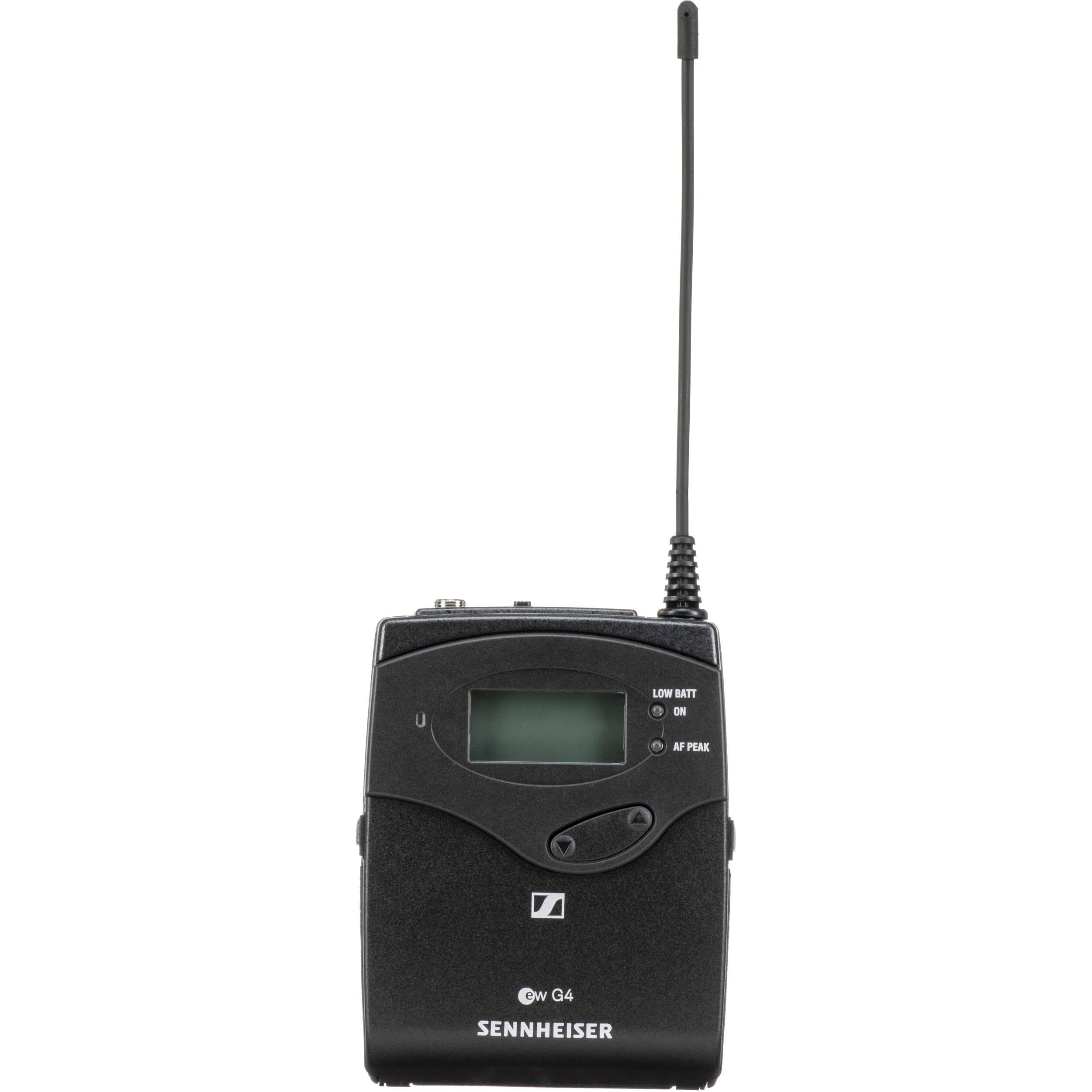 Range A: 516-558 MHz SK 100 G4 Wireless Bodypack Transmitter