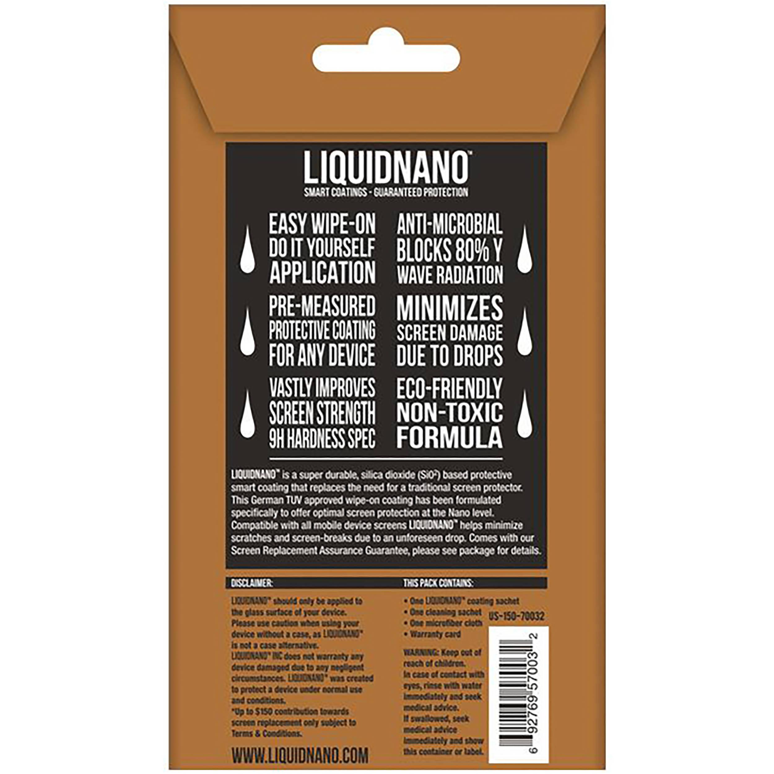 LiquidNano LIQUIDNANO Ultimate Screen Protector ALN300001 B&H