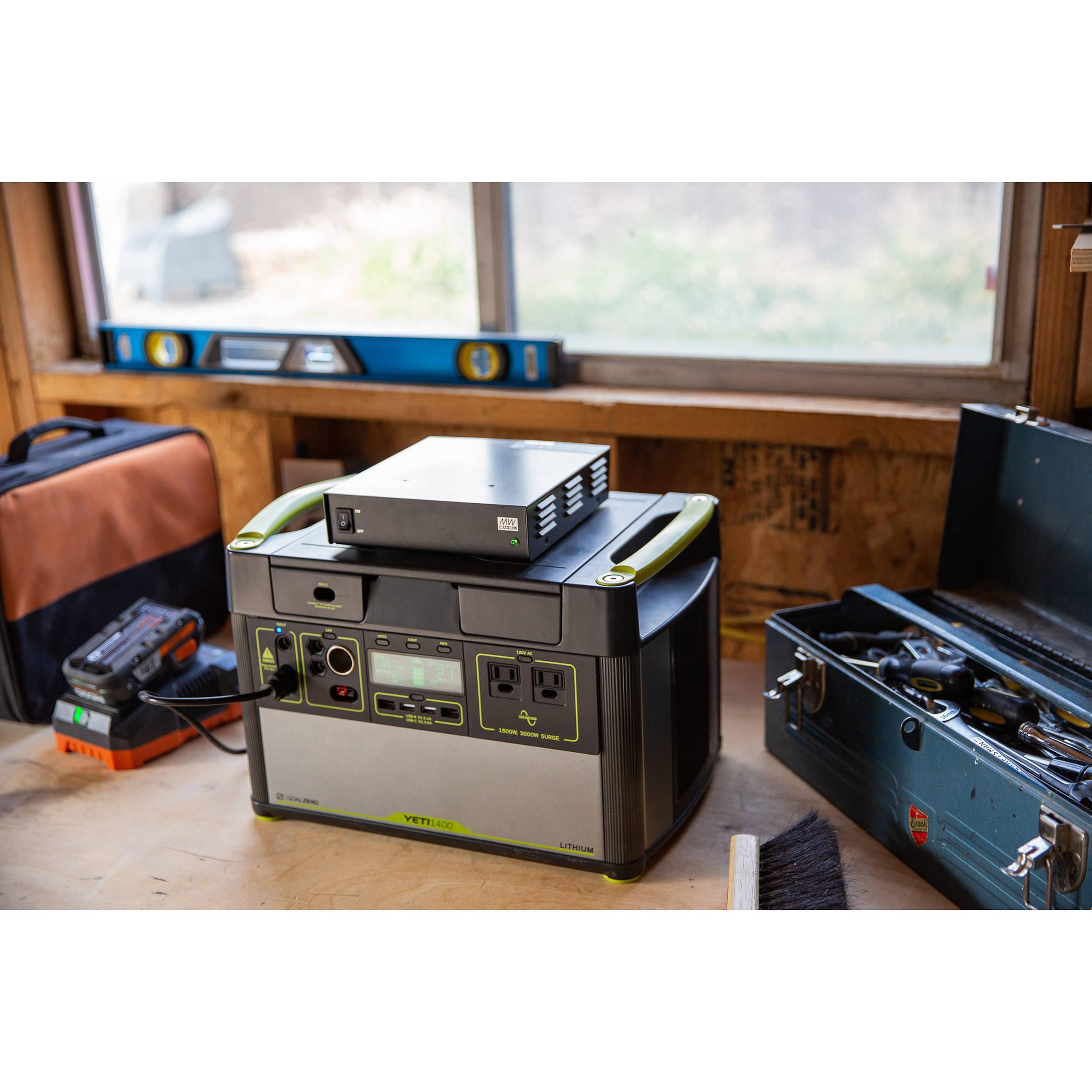 GOAL ZERO 25 AMP Fast Charge AC Power Supply 98080 B&H Photo