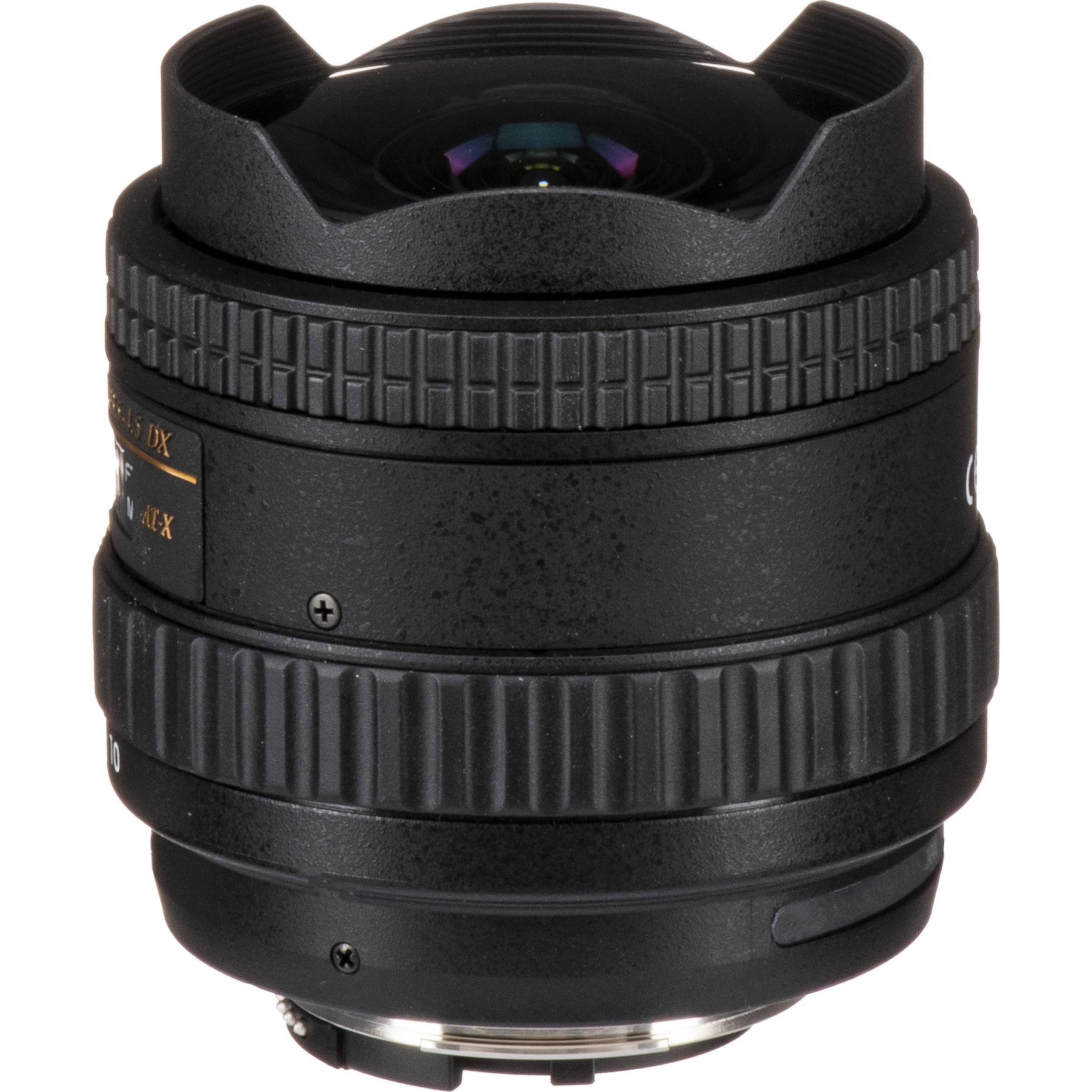 Tokina 10-17mm f/3 5-4 5 AT-X 107 DX AF Fisheye Lens for Nikon F