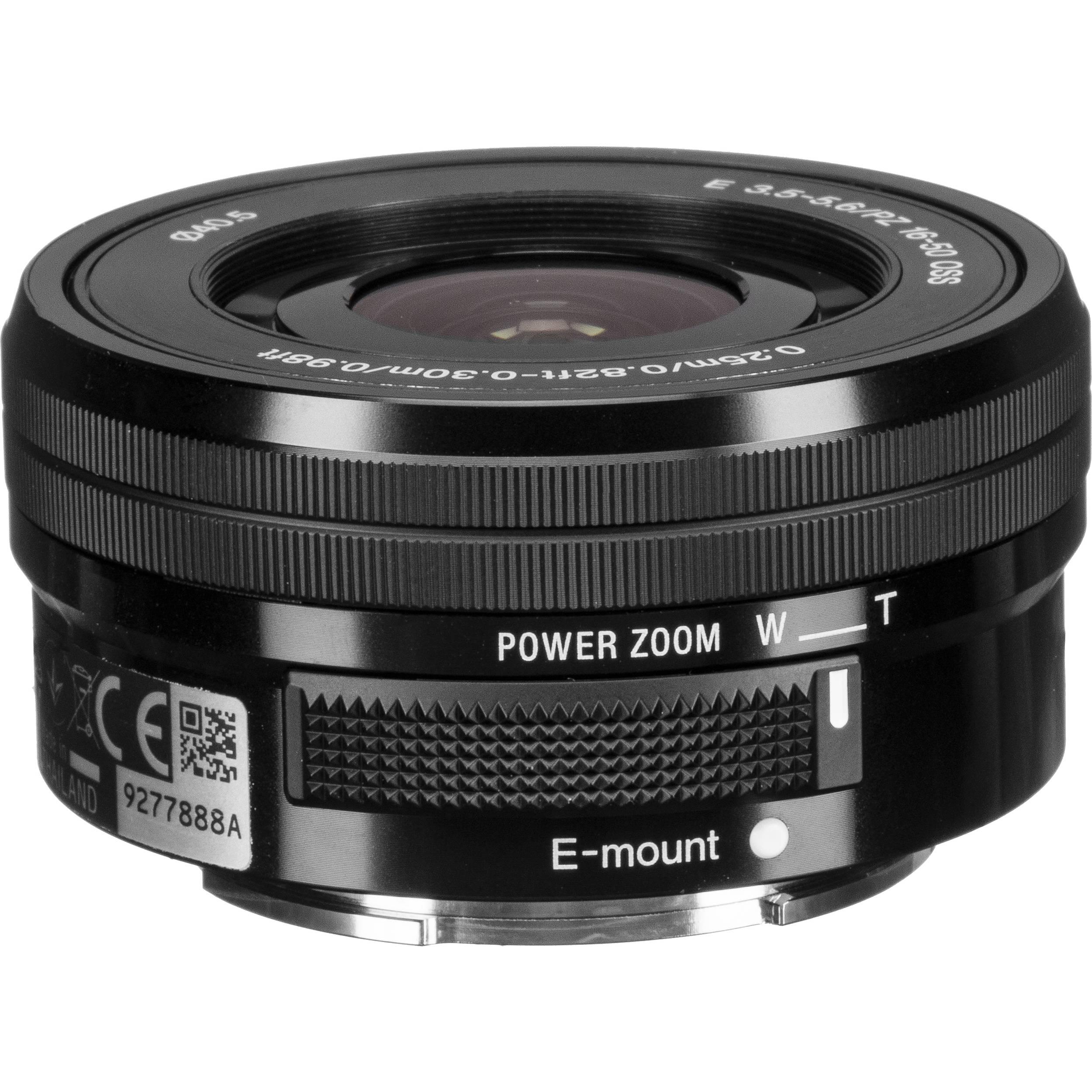 Sony E PZ 16-50mm f/3 5-5 6 OSS Lens